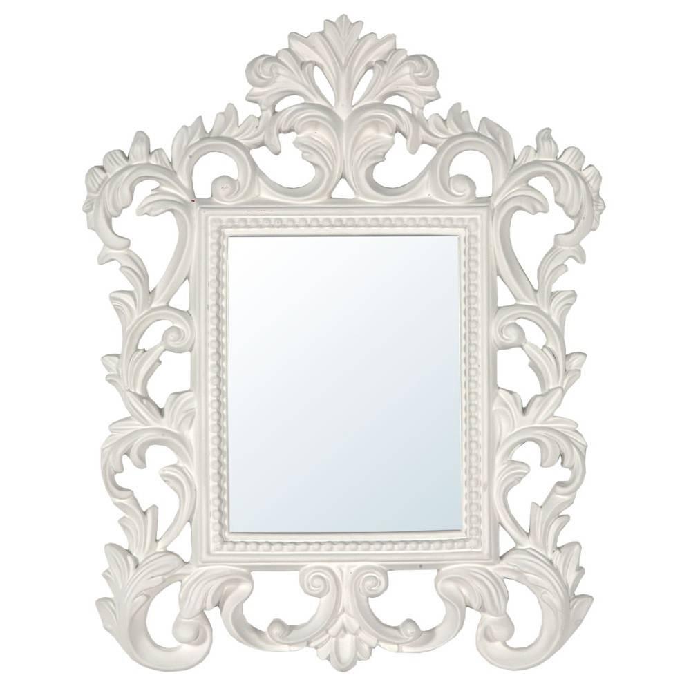 White Baroque Mirror - Mirrors, Furniture, Lighting - Wholesale throughout Baroque White Mirrors (Image 24 of 25)