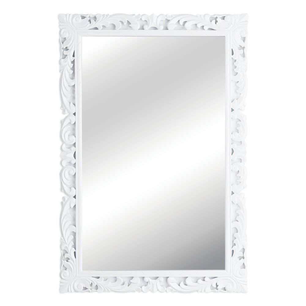 White Baroque Mirror ~ Peeinn in White Baroque Wall Mirrors (Image 24 of 25)