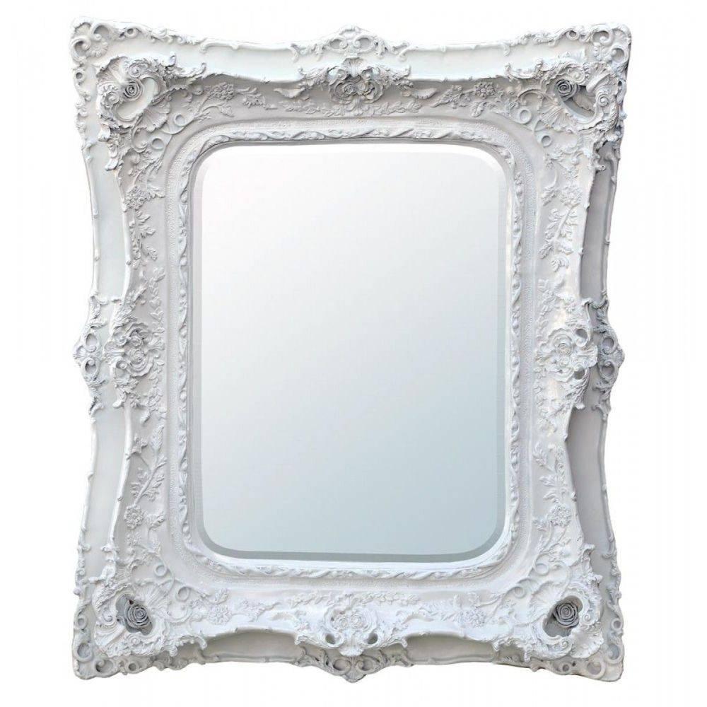 White Baroque Wall Mirror | Home Design Ideas for White Baroque Wall Mirrors (Image 25 of 25)