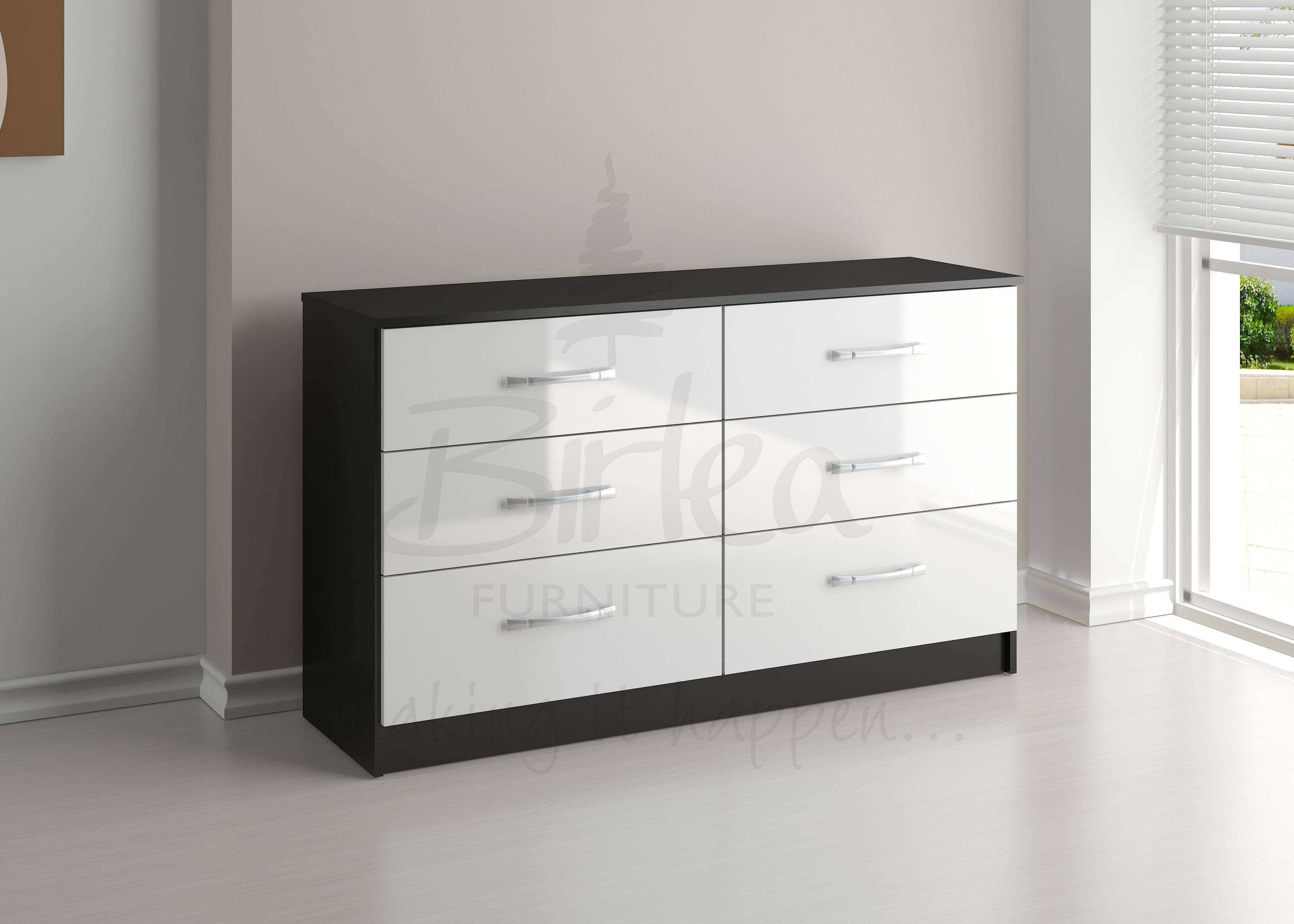 White Childrens Bedroom Furniture Sets Gloss Discount Cheap with regard to Cheap Black Gloss Wardrobes (Image 15 of 15)