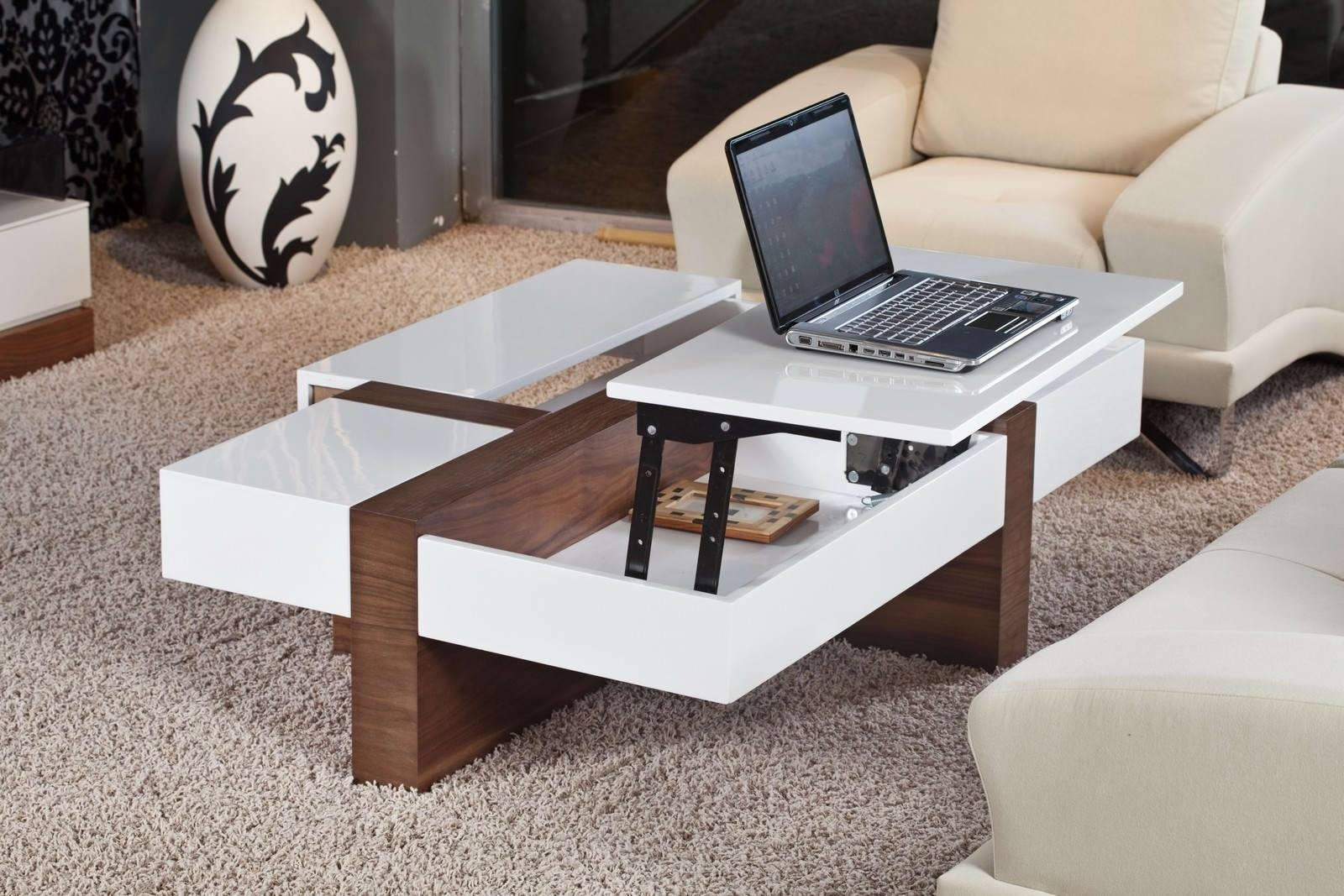 White Coffee Table With Storage - Pgr Home Design intended for White Coffee Tables With Storage (Image 26 of 30)
