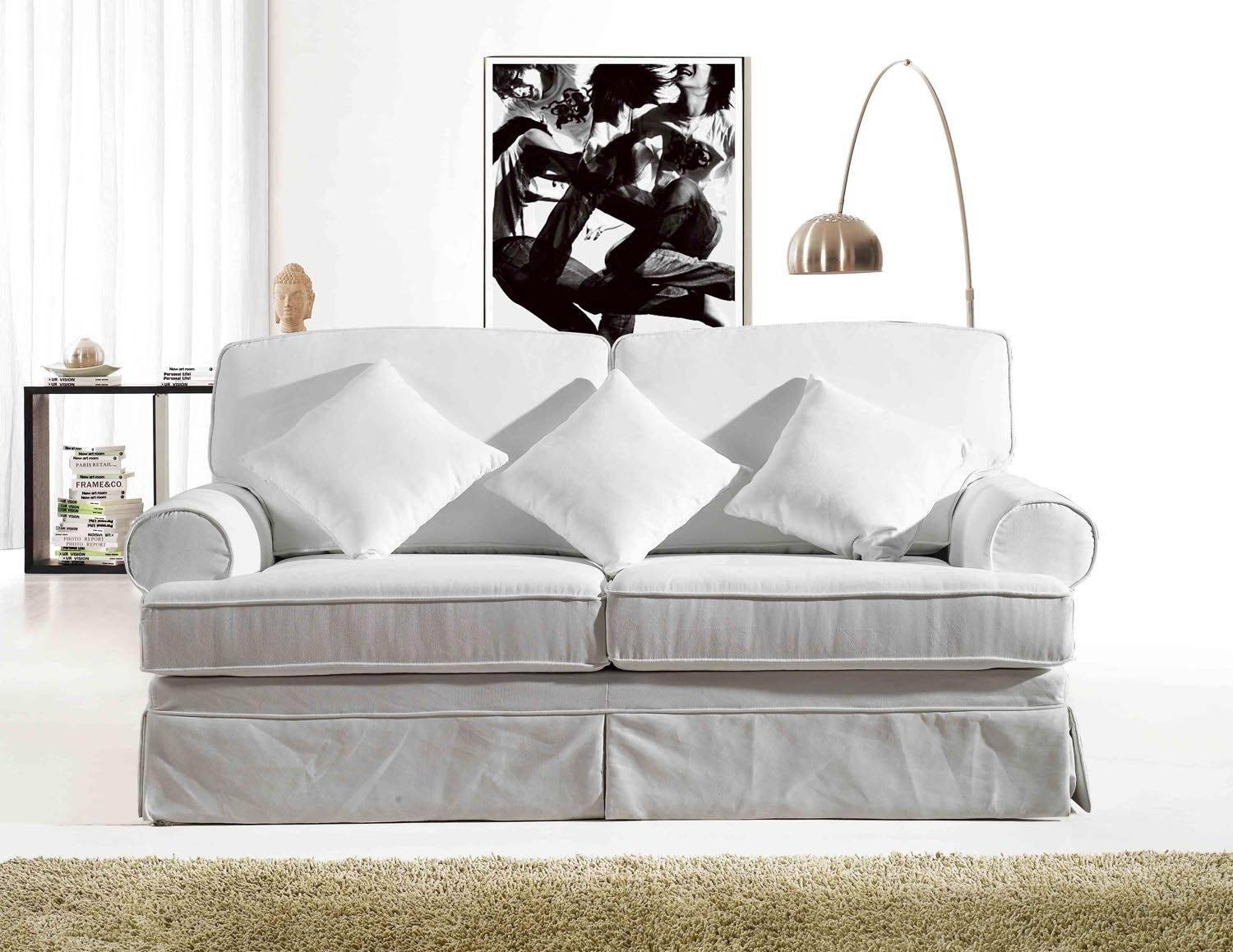 White Fabric Sofa Fabric Sofas Modern Amp Contemporary Ikea intended for White Fabric Sofas (Image 29 of 30)