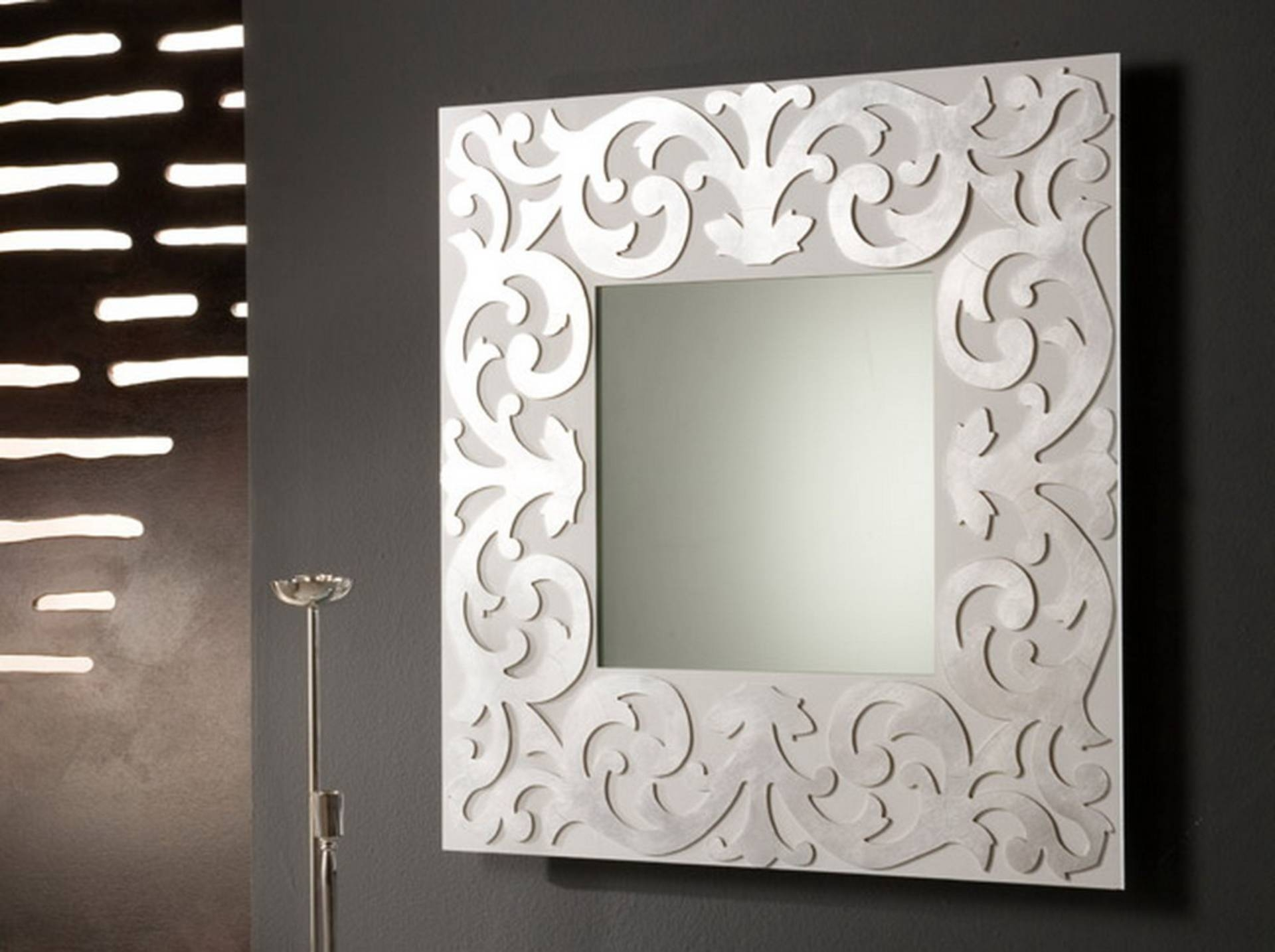 White Frame Mirror, White Framed Mirror Fabulous Mirrors Pottery intended for White Decorative Mirrors (Image 25 of 25)