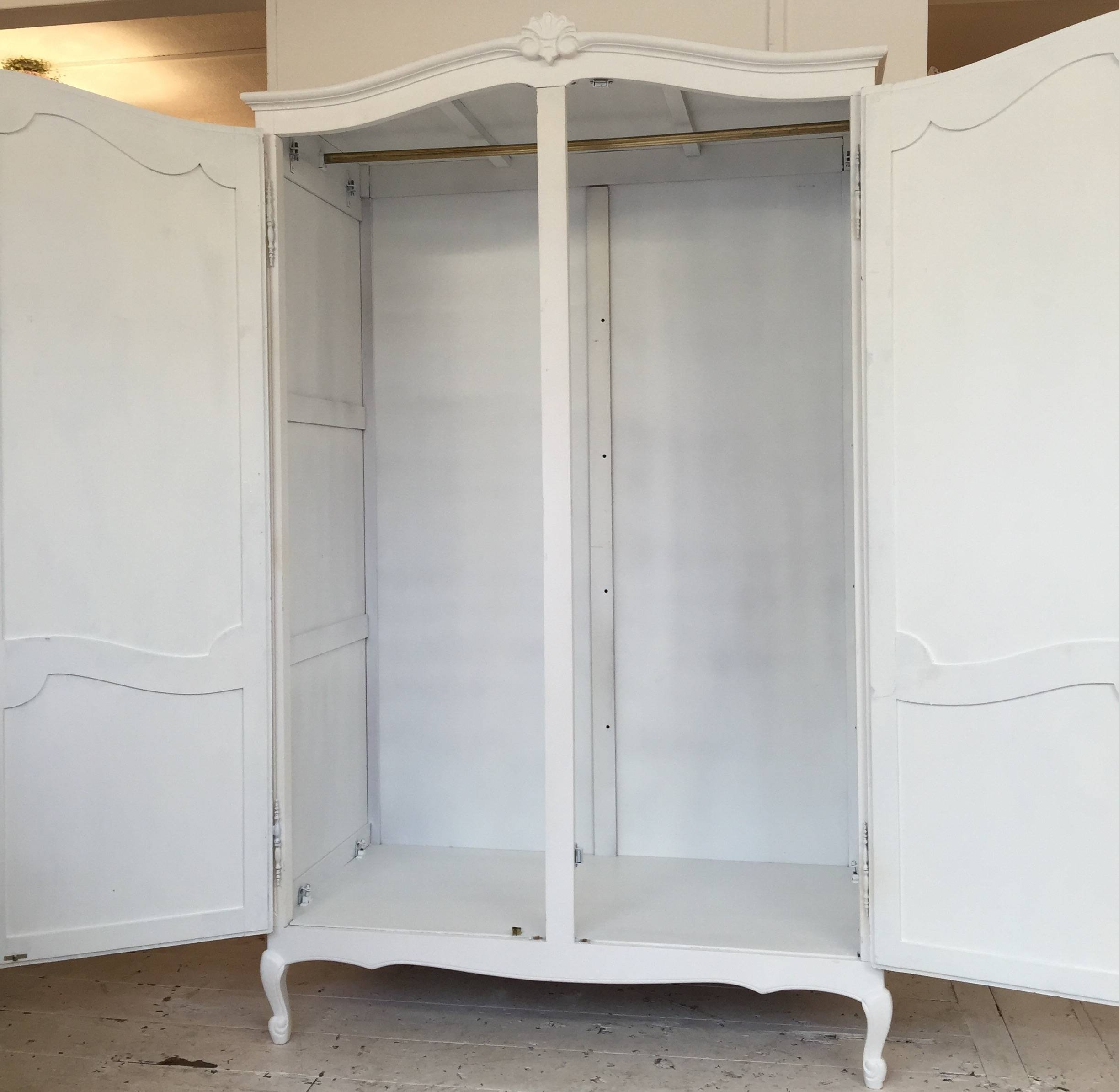 White French Style Wardrobe - Home Sweet Homehome Sweet Home in White French Style Wardrobes (Image 15 of 15)