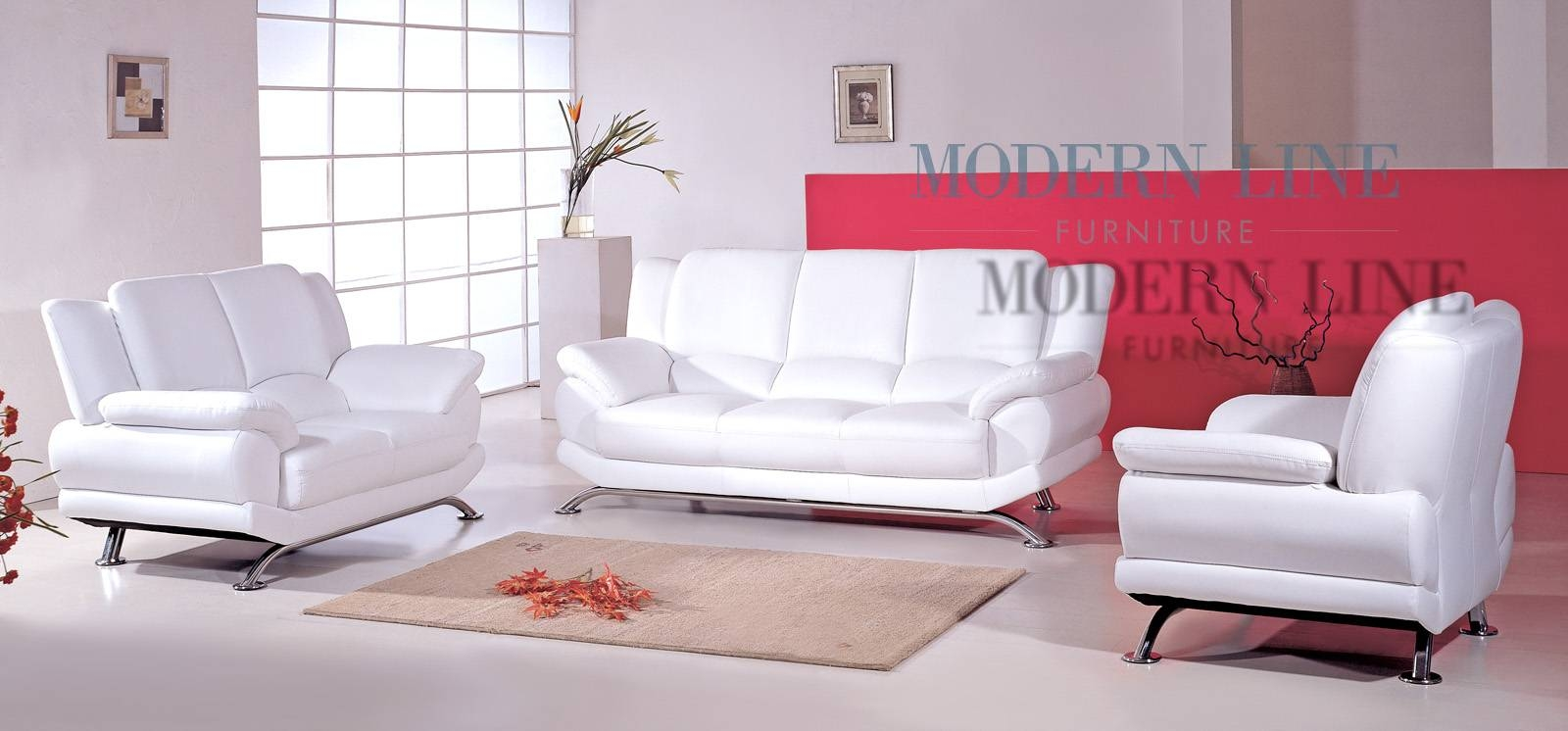 White Leather Couches. White Leather Sofas. Quality Bonded Leather pertaining to Off White Leather Sofa and Loveseat (Image 26 of 30)