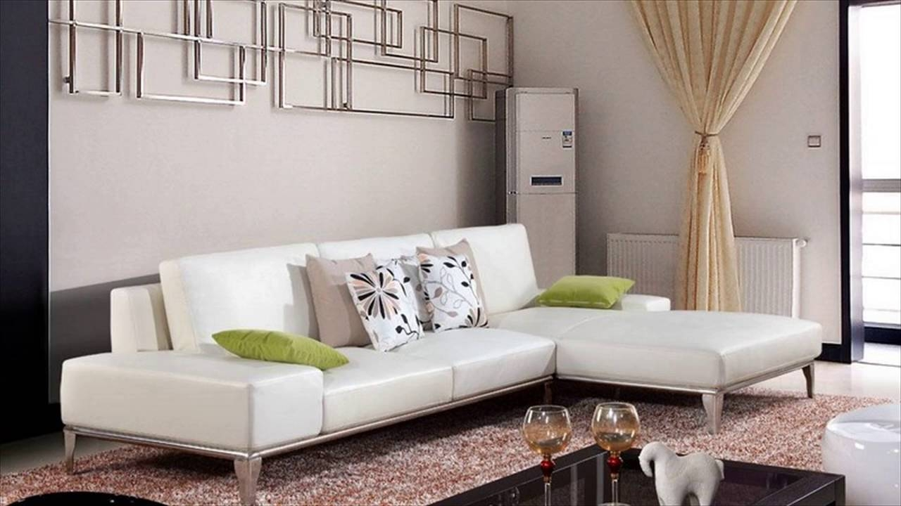 White Leather Furniture - Youtube with regard to White Leather Sofas (Image 22 of 30)