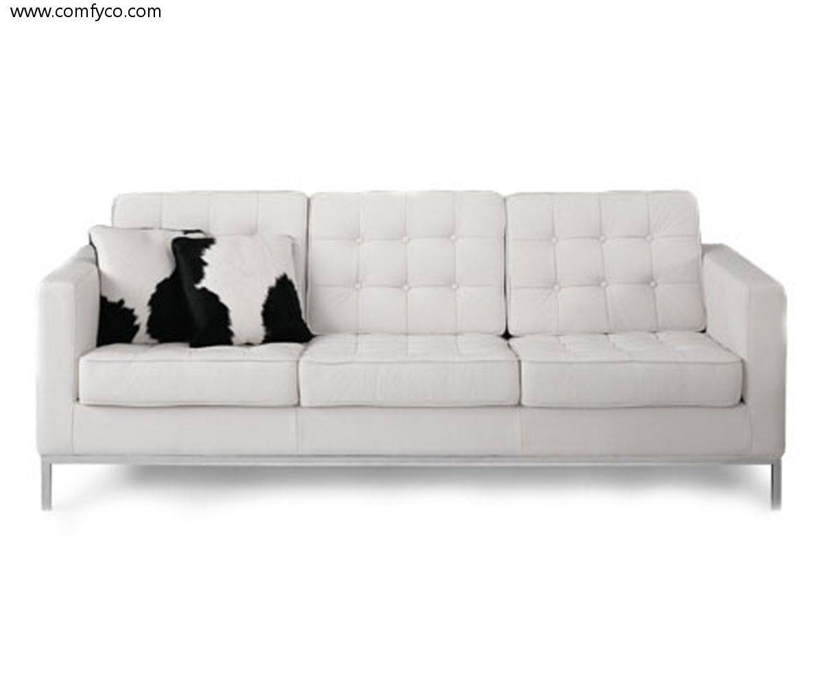 White Leather Sofa Chair | Tehranmix Decoration with White Sofa Chairs (Image 27 of 30)