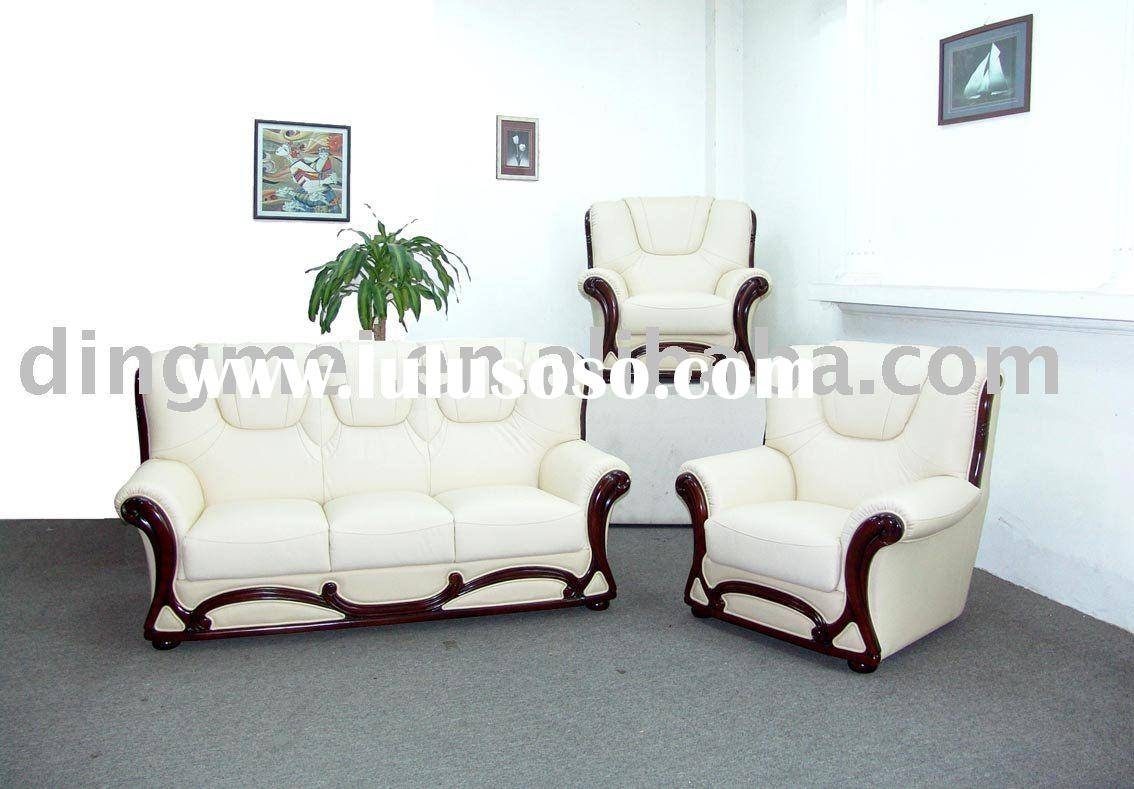 White Leather Sofa Cream Leather Sofa. Free Shipping European And inside White Leather Sofas (Image 24 of 30)