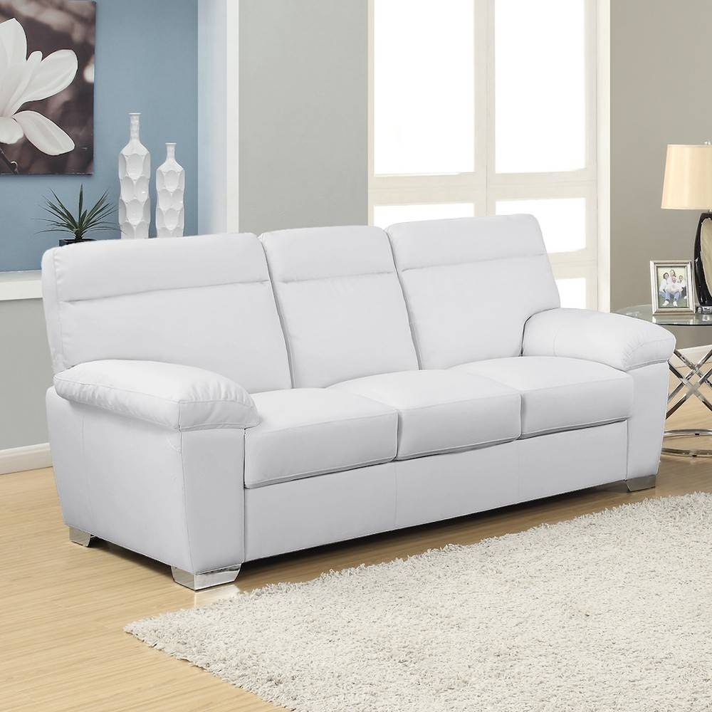 White Leather Sofa Uk | Sofas Decoration throughout White Leather Sofas (Image 26 of 30)