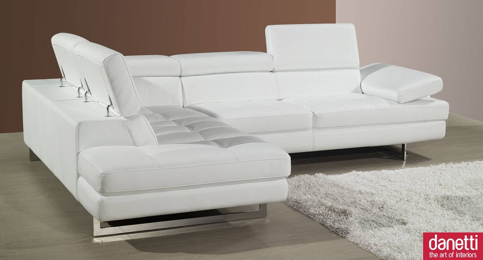 White Leather Sofa Uk | Sofas Decoration with regard to White Leather Corner Sofa (Image 30 of 30)