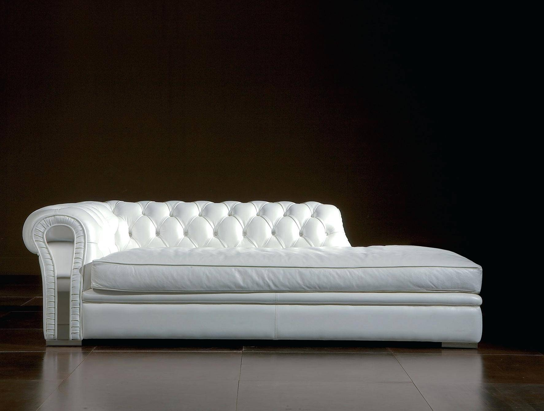 White Leather Sofa With Chaise – Lenspay with regard to Long Chaise Sofa (Image 25 of 25)