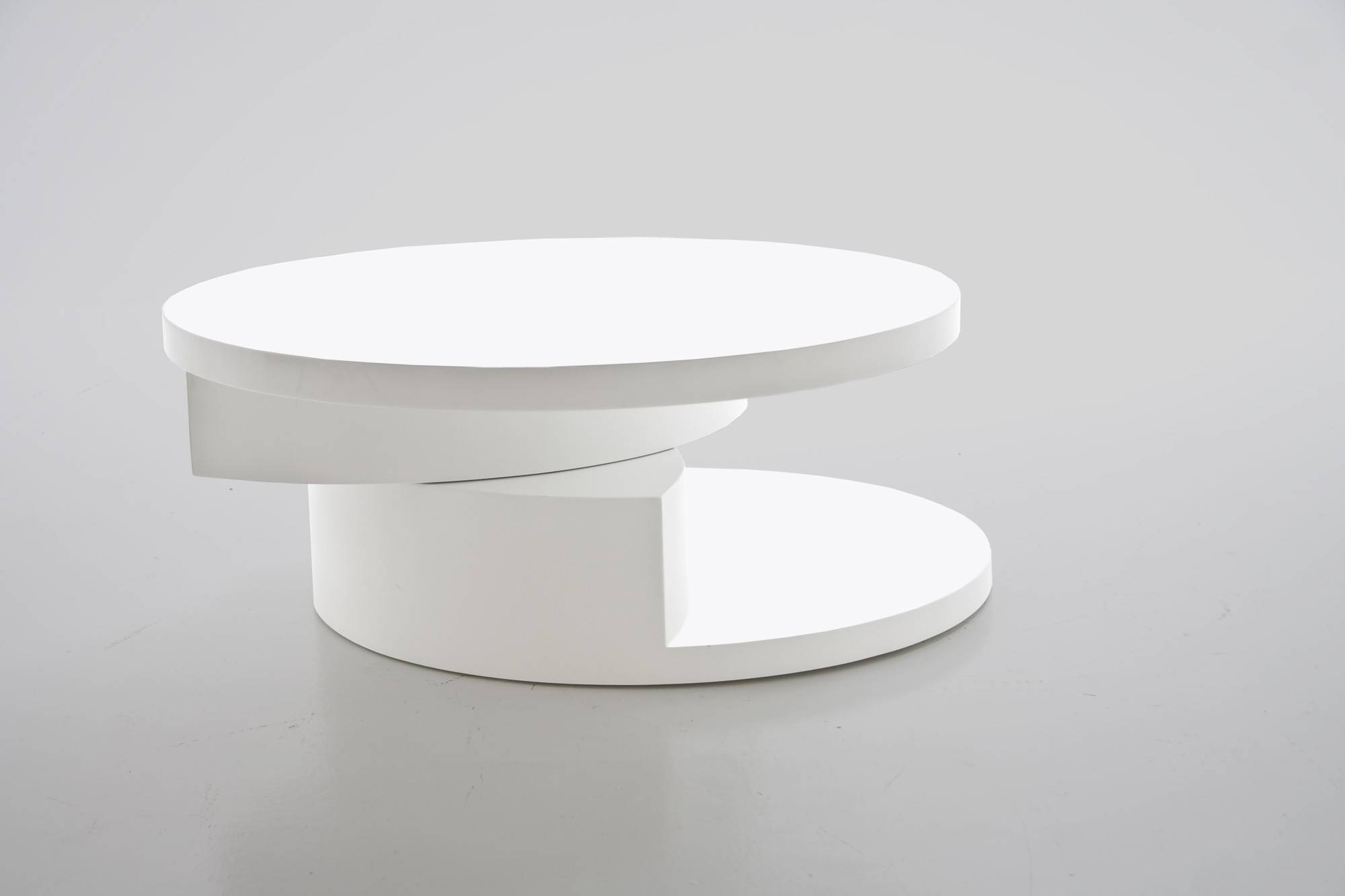White Modern Coffee Tables with Round High Gloss Coffee Tables (Image 30 of 30)