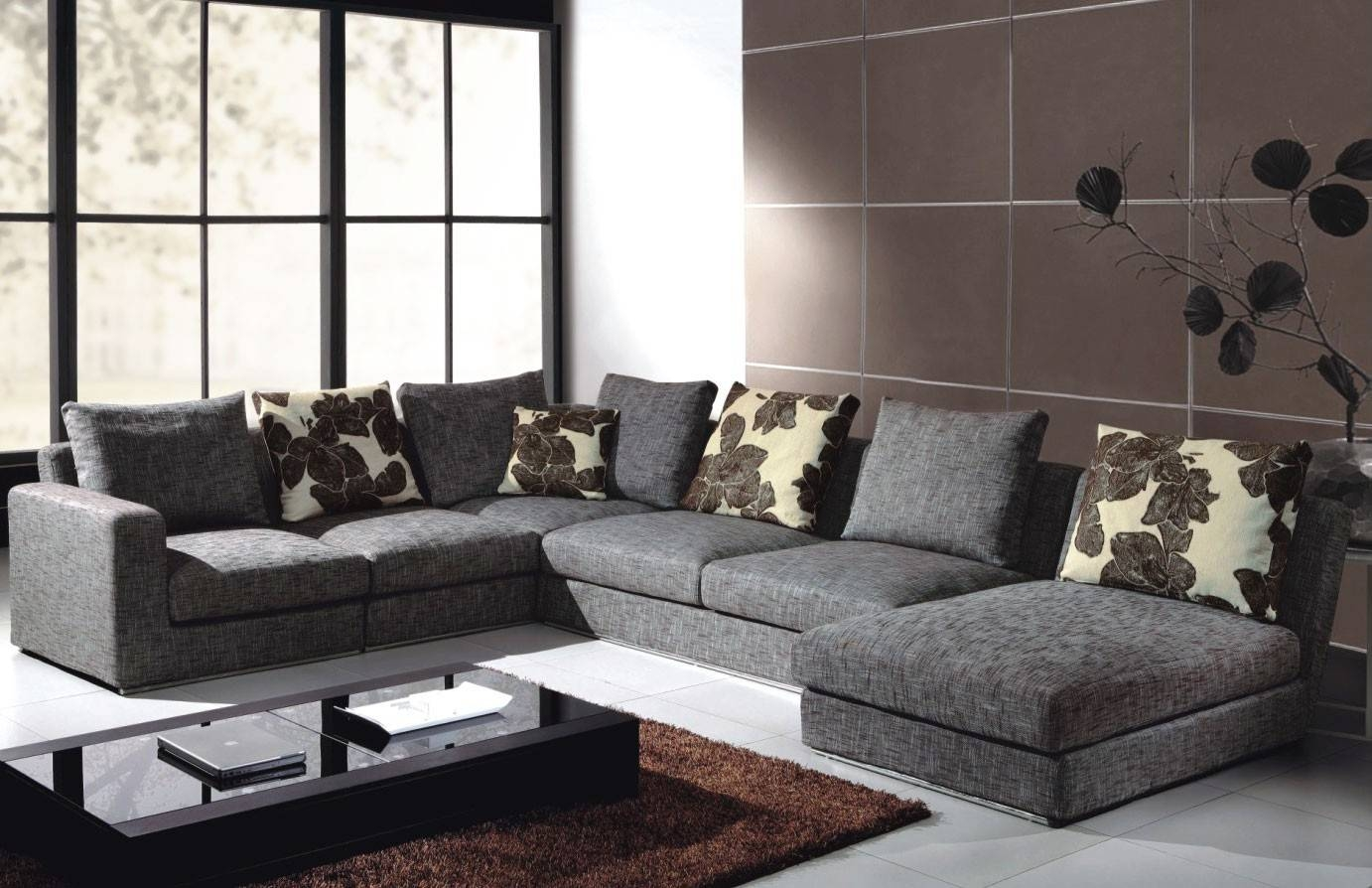 White Sectional Sofa : Choosing One Of The Suitable Sectional intended for Sectinal Sofas (Image 30 of 30)