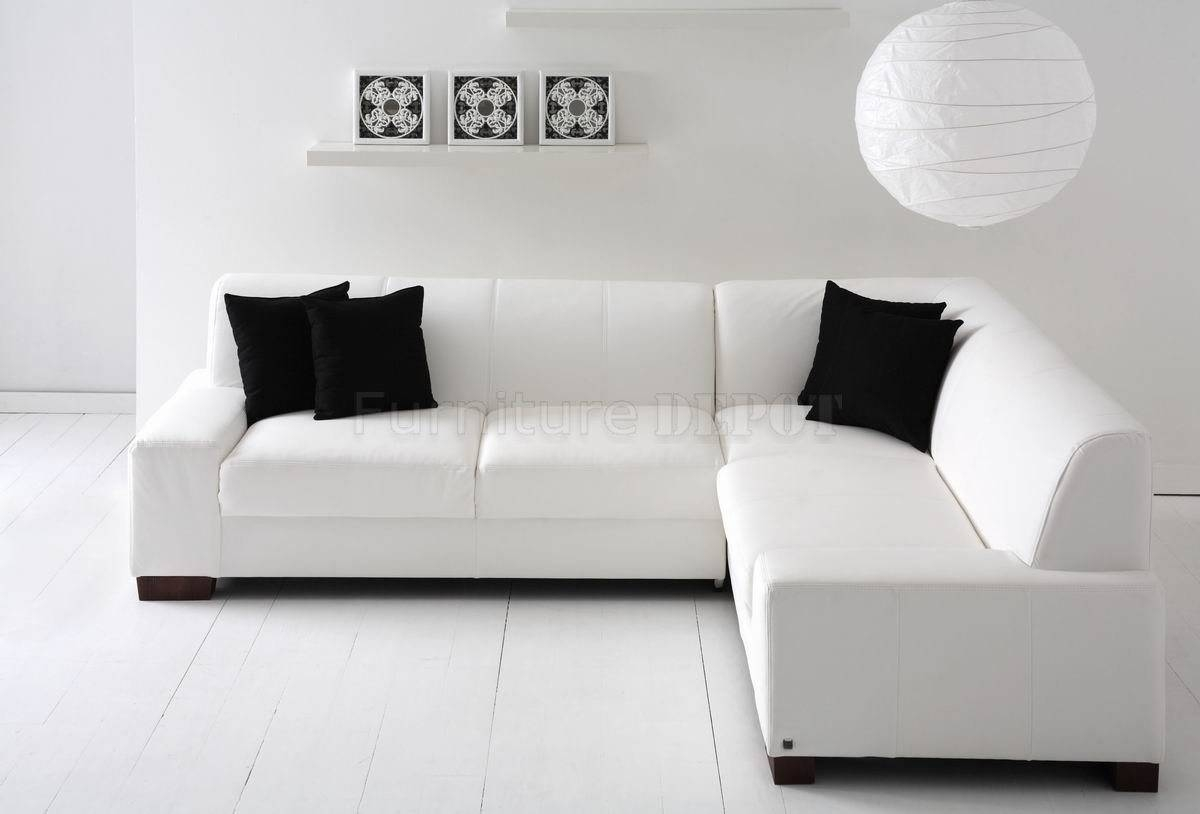 White Sectional Sofa | Freedom To throughout Black and White Sectional Sofa (Image 28 of 30)