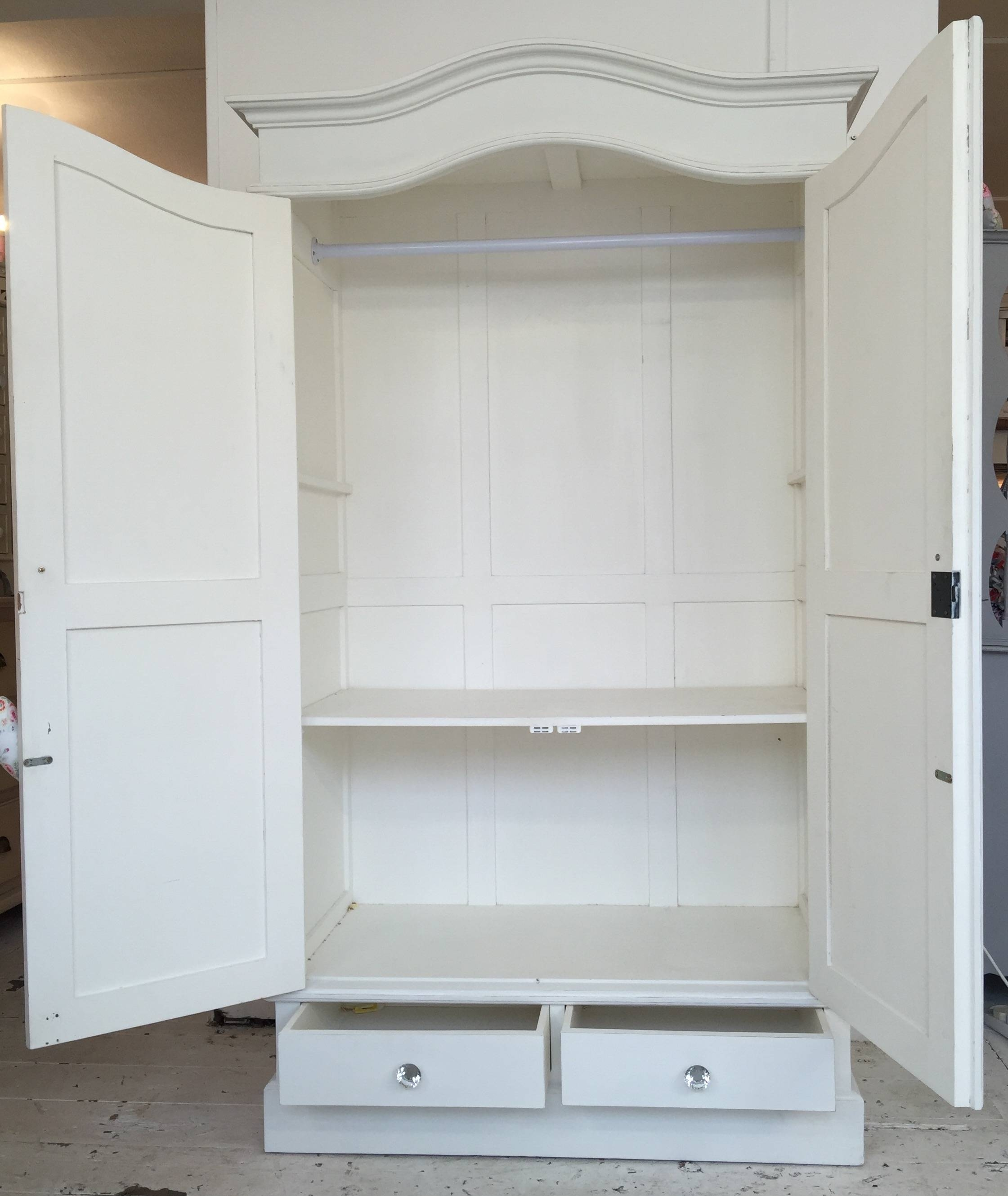 White Shabby Chic Wardrobe - Home Sweet Homehome Sweet Home regarding Shabby Chic Wardrobes (Image 15 of 15)