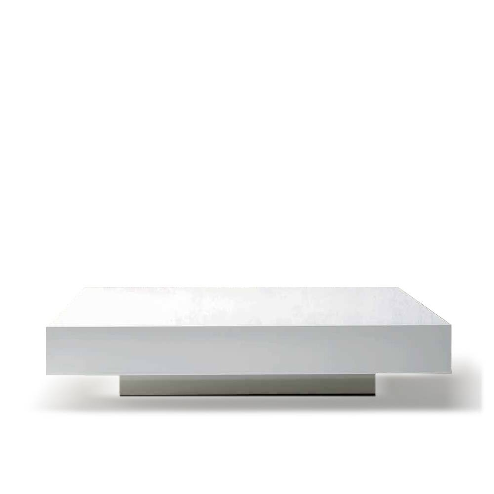 White Square Coffee Table (View 14 of 30)