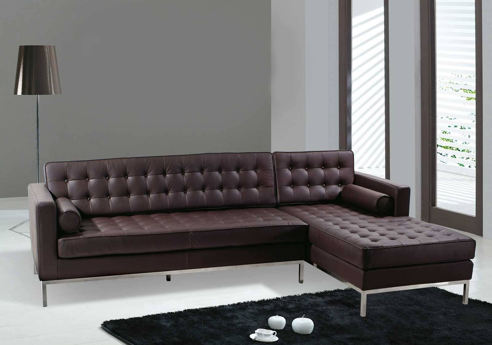 White Tufted Leather Sofa : Dye Tufted Leather Sofa – Home Design for Leather Sofas (Image 30 of 30)