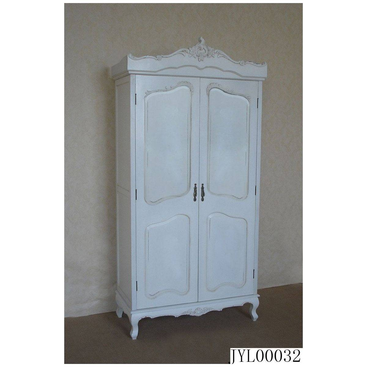 Featured Photo of White Vintage Wardrobes