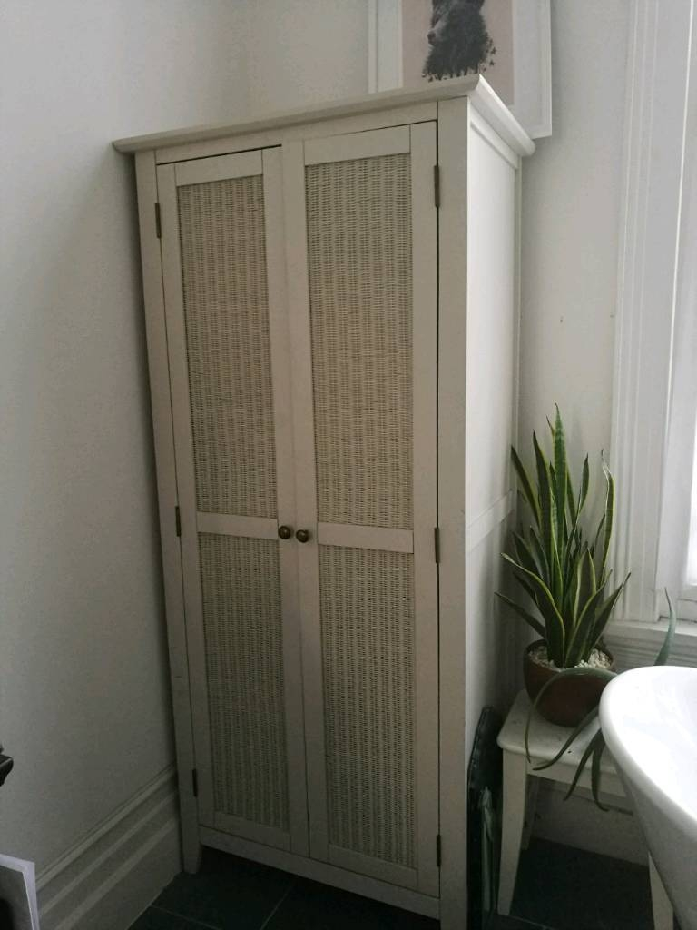 White Wicker Wardrobe | In Hove, East Sussex | Gumtree throughout White Wicker Wardrobes (Image 14 of 15)