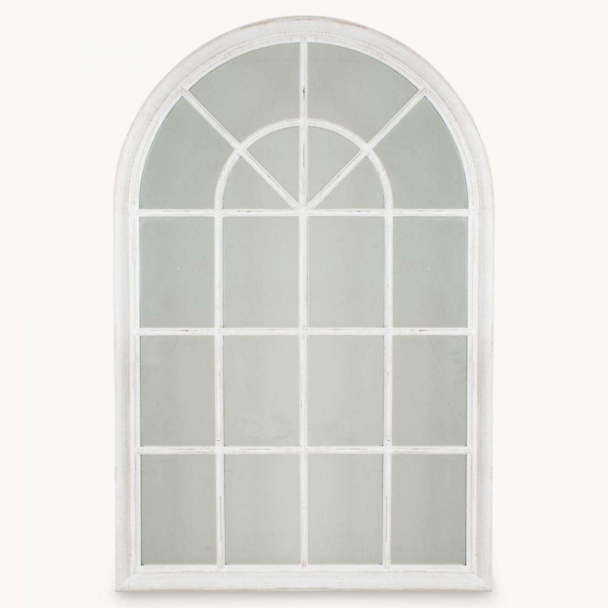 White Window Frame Mirror 48 Beautiful Decoration Also French inside Arched Window Mirrors (Image 24 of 25)