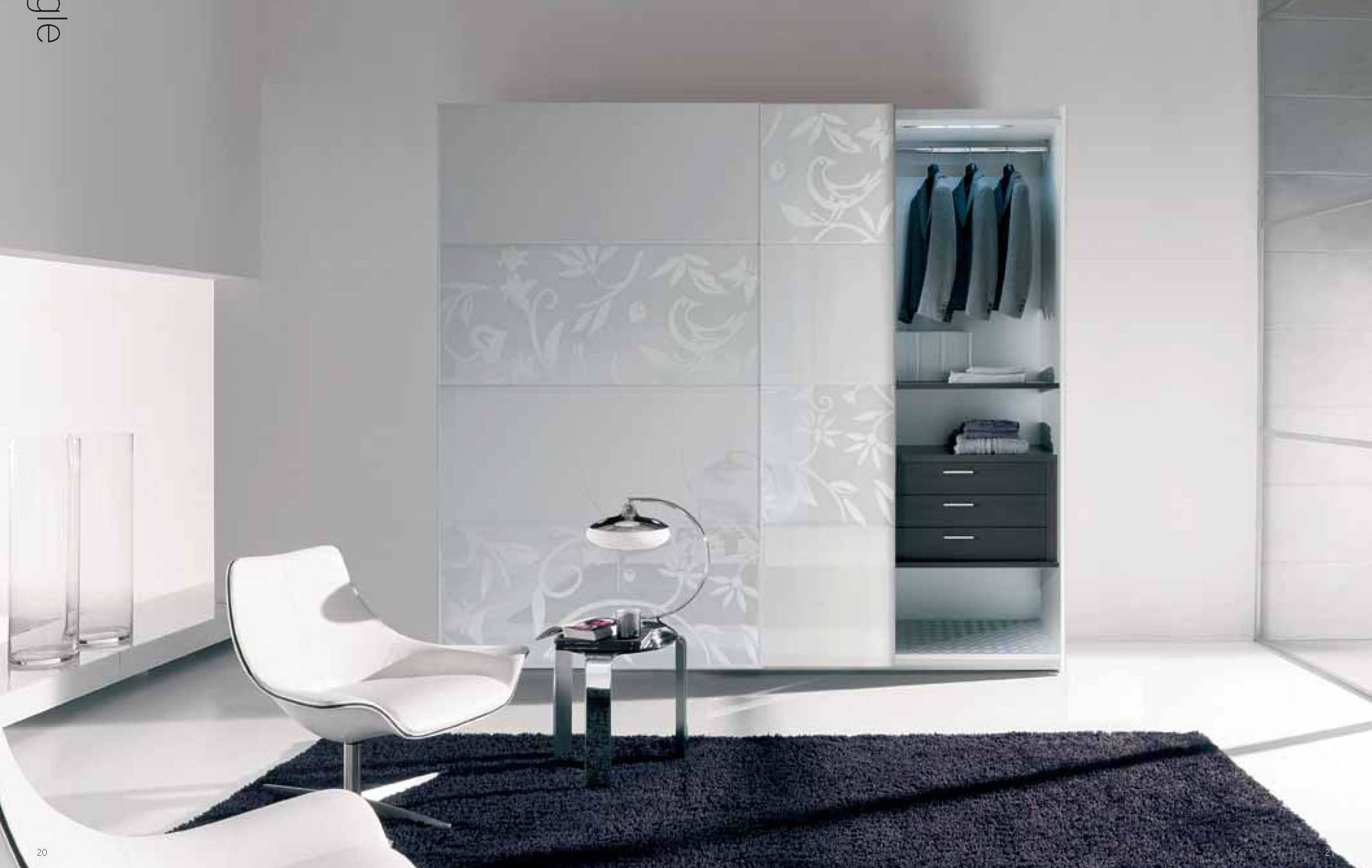 White Wooden Wardrobe With Black Wooden Drawers Plus Sliding White throughout White Wood Wardrobes With Drawers (Image 15 of 15)