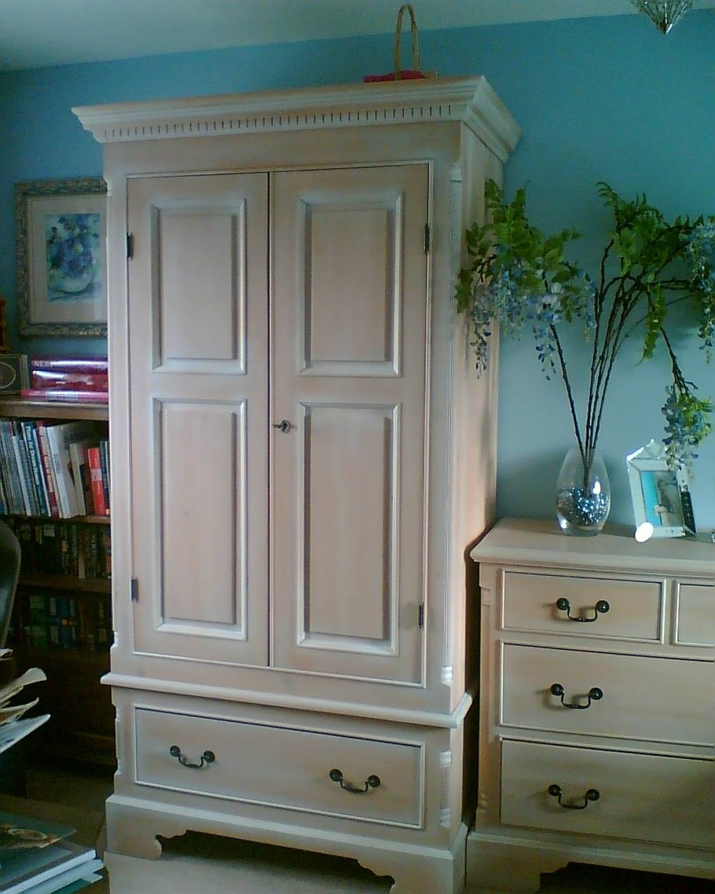 Whitewash Furniture. Love This. Whitewash Bedroom Furniture Full Pertaining To Whitewash Wardrobes (Photo 15 of 15)