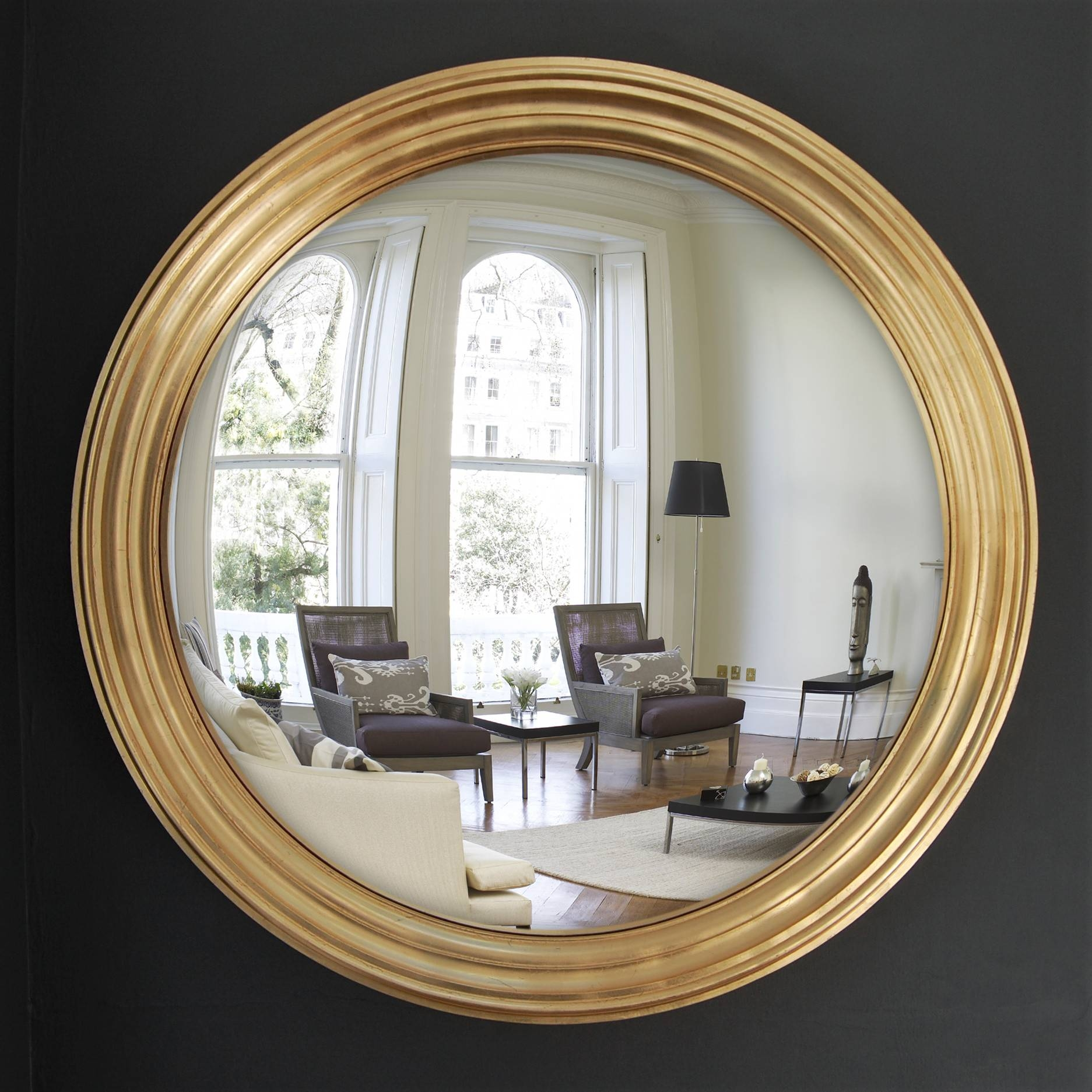 Why You Need A Large Convex Mirror - Omelo Decorative Convex with Large Convex Mirrors (Image 24 of 25)