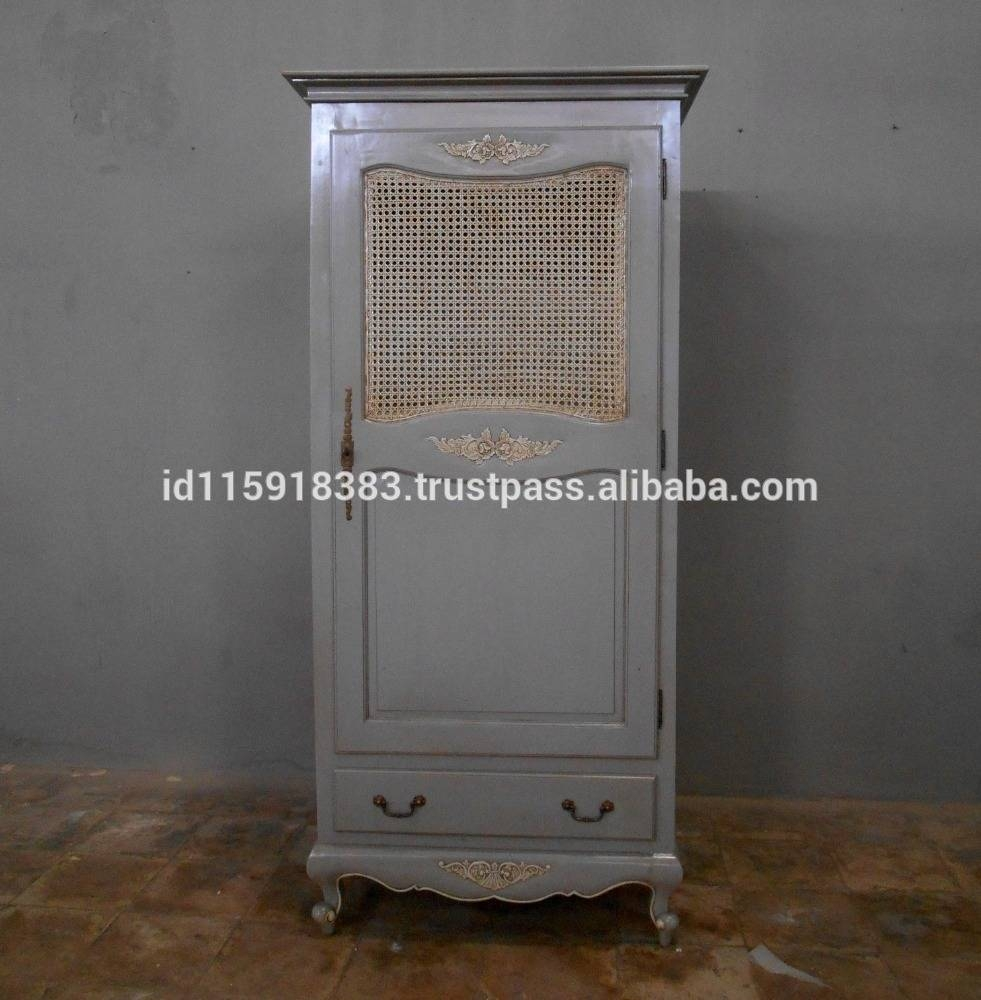 Wicker Wardrobe, Wicker Wardrobe Suppliers And Manufacturers At within Rattan Wardrobes (Image 15 of 15)