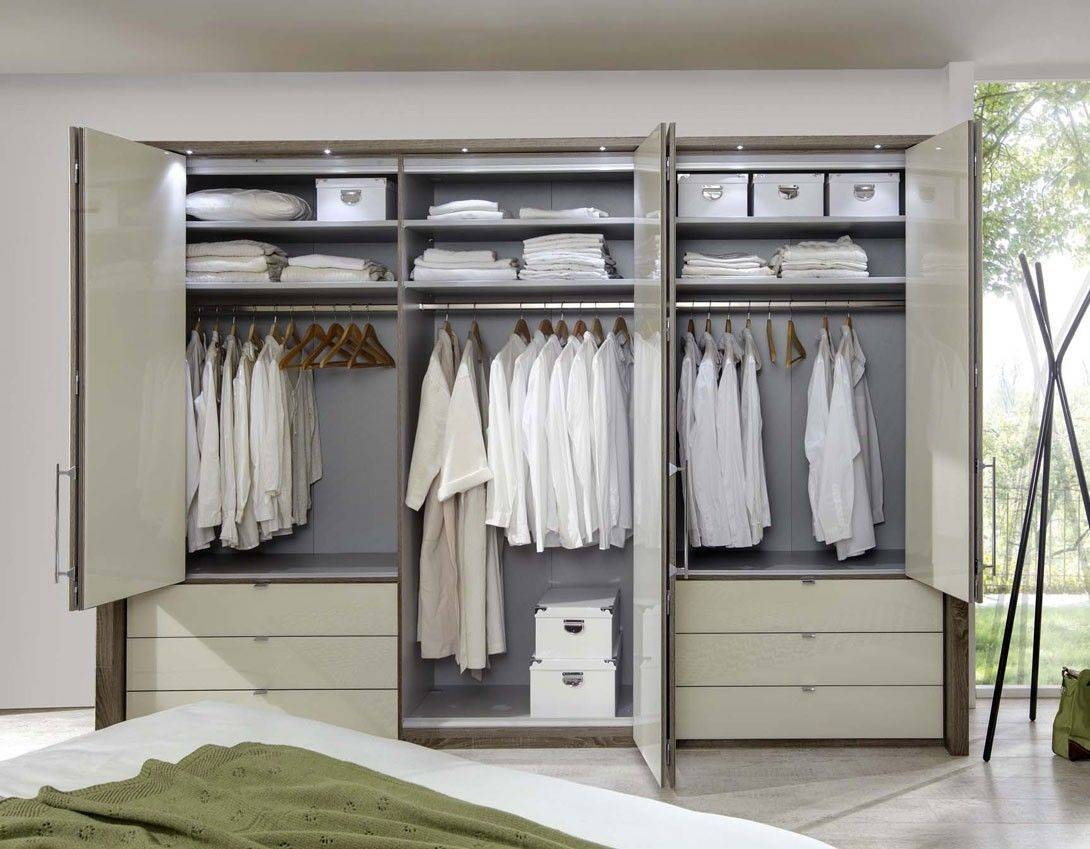 Wiemann Loft 6 Door Wardrobe Now In 2 Heights With Bi-Fold for 6 Door Wardrobes Bedroom Furniture (Image 14 of 15)