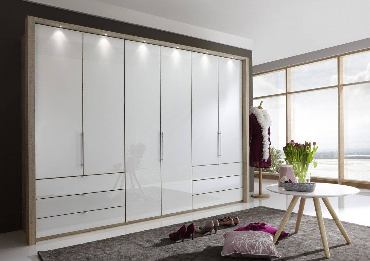 Wiemann Loft 6 Door Wardrobe Now In 2 Heights With Bi-Fold throughout 6 Door Wardrobes (Image 14 of 15)