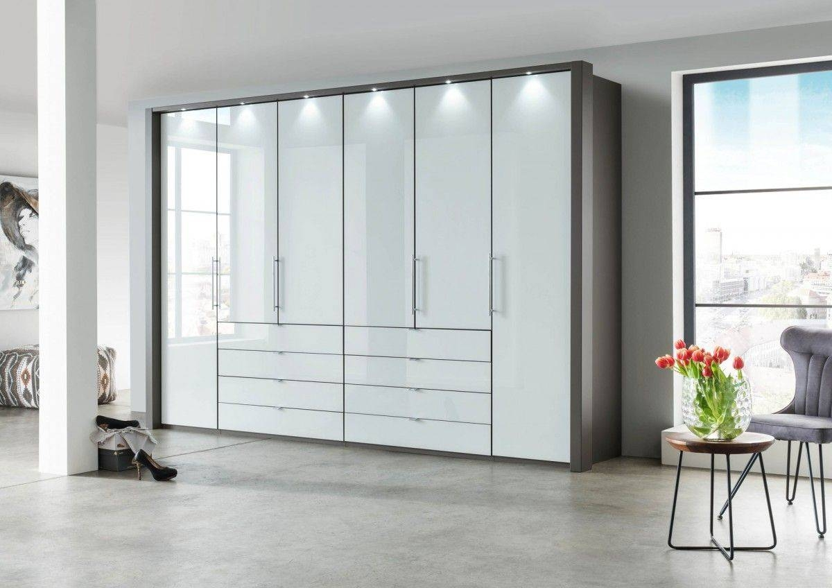 Wiemann Loft 6 Door Wardrobe With Bi-Fold Panorama Doors Now In 2 within 6 Door Wardrobes (Image 15 of 15)