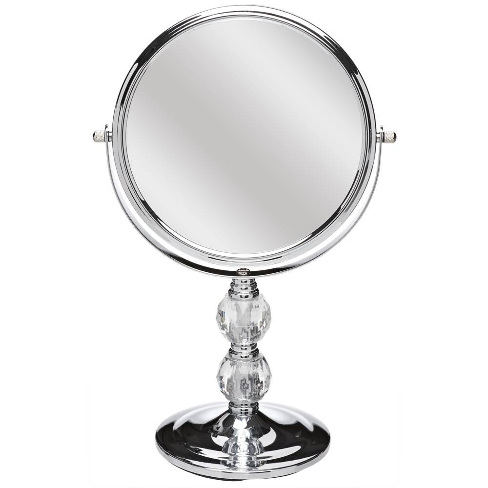 Wilko Free Standing Mirror Chrome And Crystal Effect At Wilko Within Silver Free Standing Mirrors (View 25 of 25)