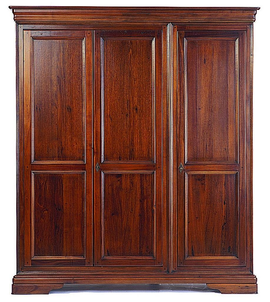 Willis And Gambier – Louis Philippe Triple Wardrobe For Willis And Gambier Wardrobes (View 12 of 15)