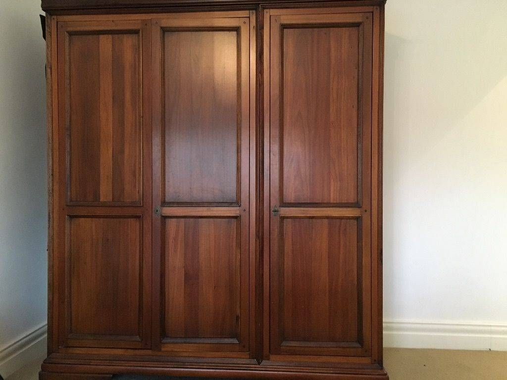 Willis And Gambier Louis Philippe Triple Wardrobe | In Newcastle Throughout Willis And Gambier Wardrobes (View 10 of 15)
