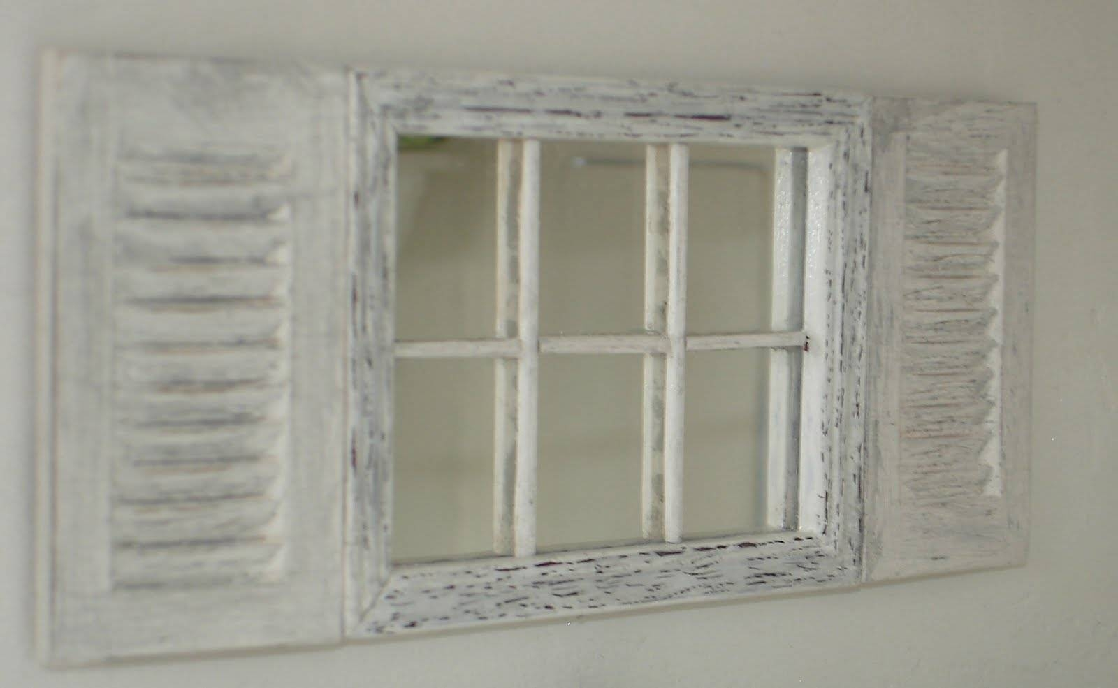 Window Mirror With Shutters – Harpsounds.co in Wall Mirrors With Shutters (Image 22 of 25)