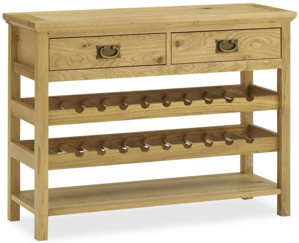 Wine Racks On Sale - Pine, Walnut & Oak, Available To Buy Online within Oak Sideboards With Wine Rack (Image 28 of 30)