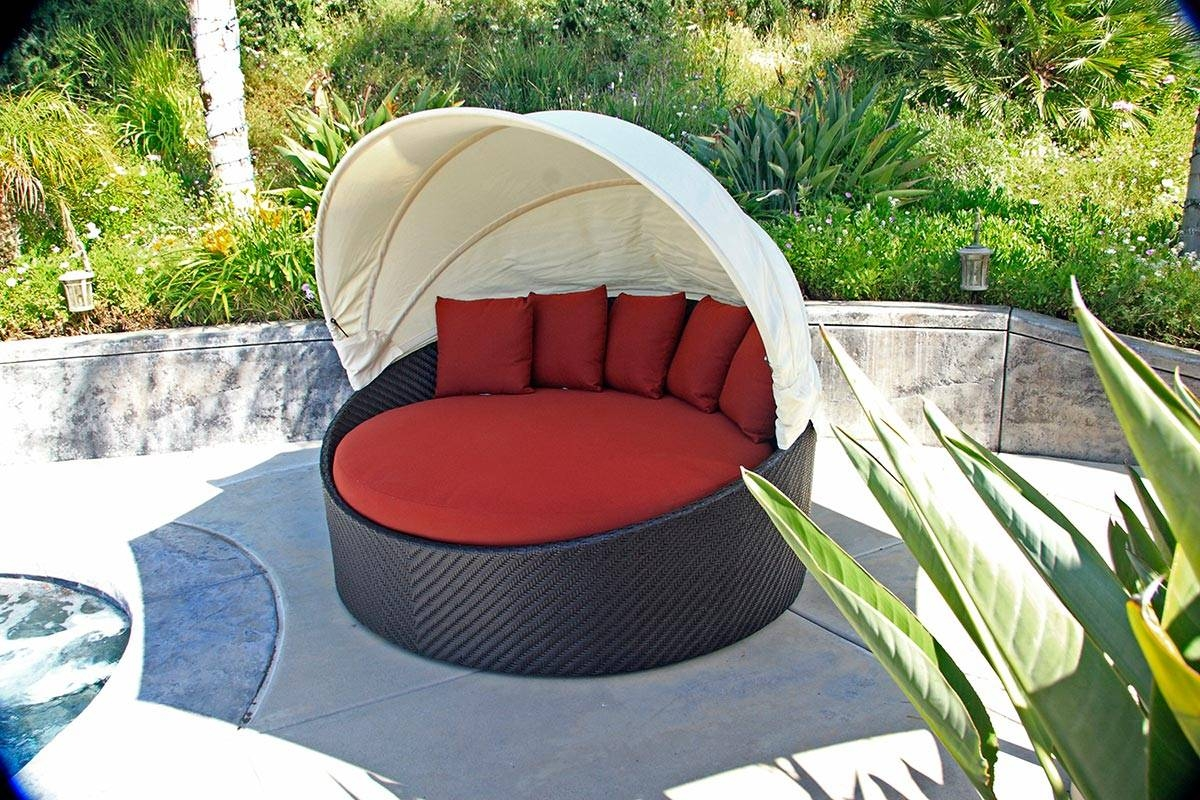 Wink Canopy Day Bed - On Sale - Patio Productions intended for Outdoor Sofas With Canopy (Image 30 of 30)