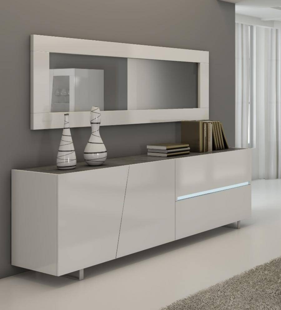 Wohnzimmerz: Gwinner Sideboard With Modern Sideboards Dining Room pertaining to Grey Gloss Sideboards (Image 30 of 30)