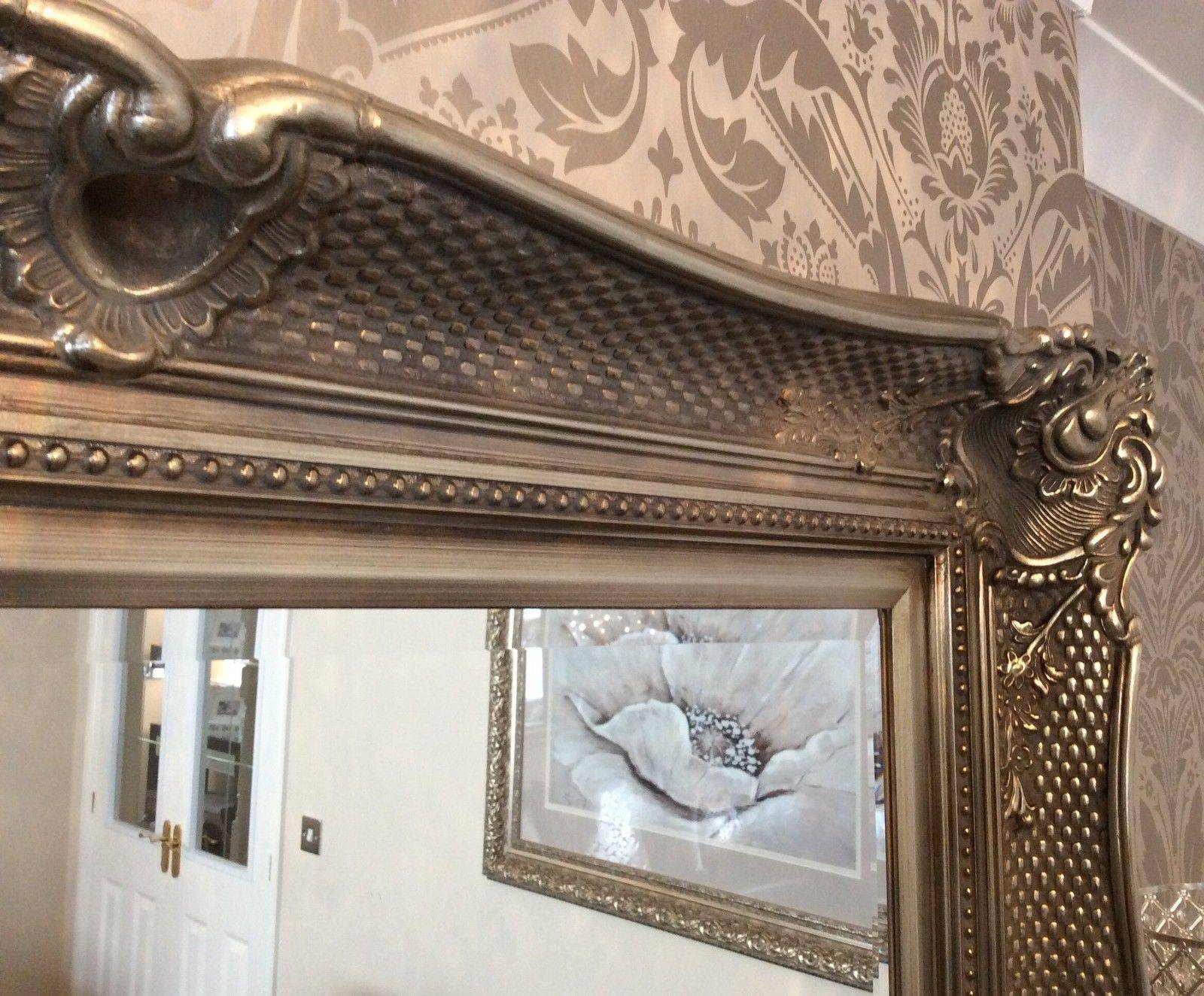 Wonderful Ornate Fabulous Extra Large Wall Mirror – Range Of Sizes With Extra Large Ornate Mirrors (View 24 of 25)