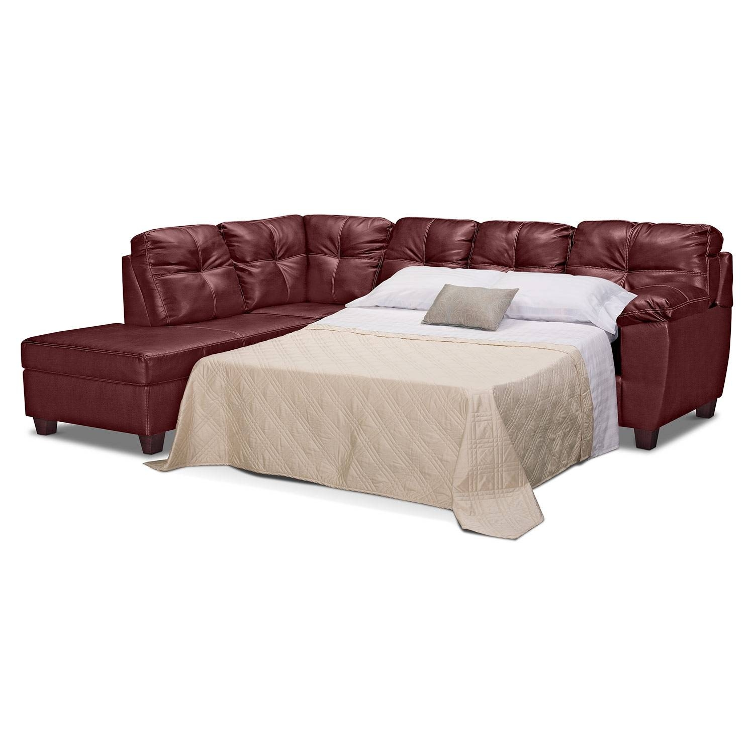 Wonderful Sectional Sofas With Sleeper Bed 52 In 3 Piece Sectional within 3 Piece Sectional Sleeper Sofa (Image 30 of 30)