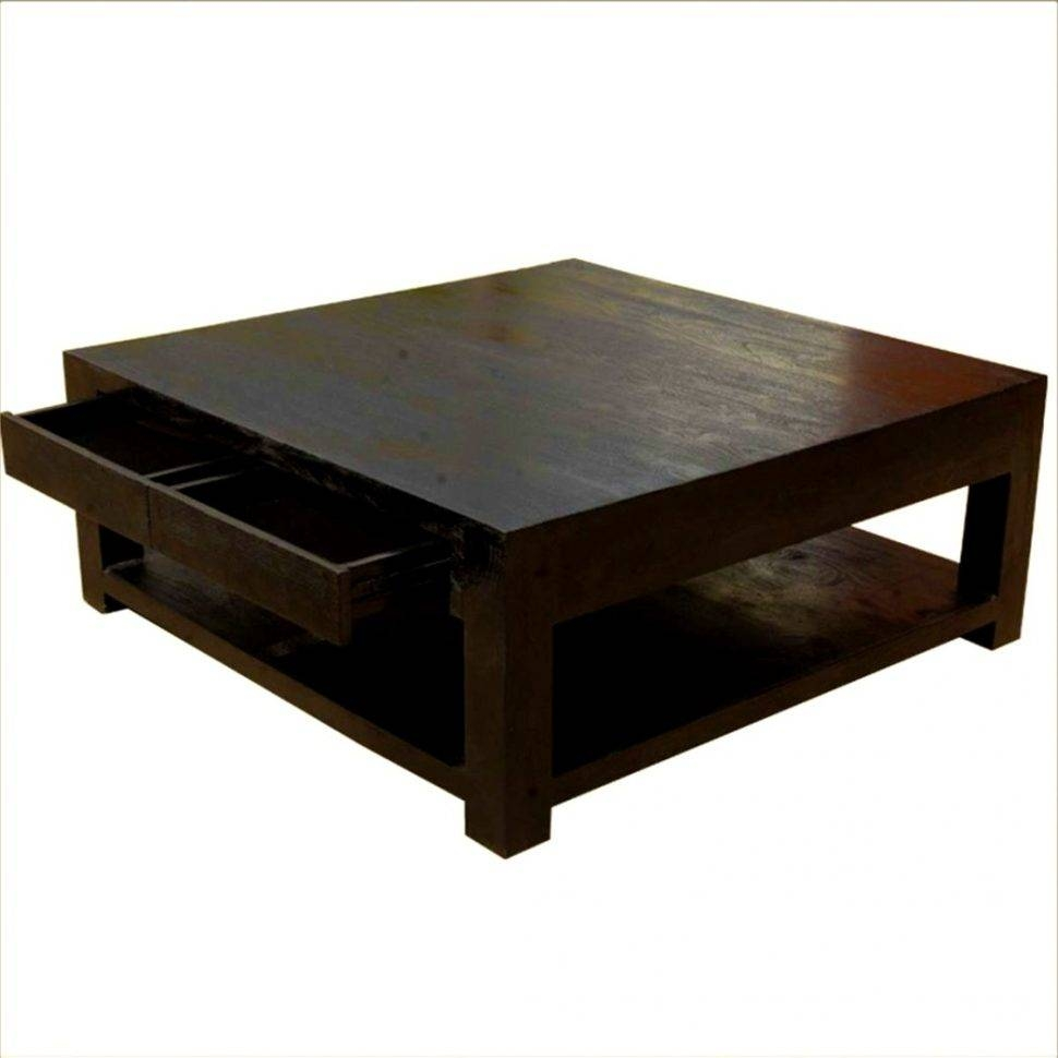 Wonderful Square Black Coffee Table With Kitchen Winsome Square throughout Square Black Coffee Tables (Image 30 of 30)