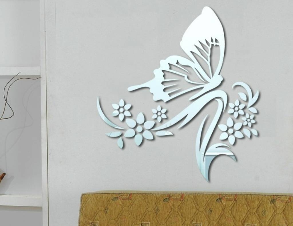 Wonderfull Mirror Butterfly Wall Decor Designs | Interior Decoration with Butterfly Wall Mirrors (Image 25 of 25)