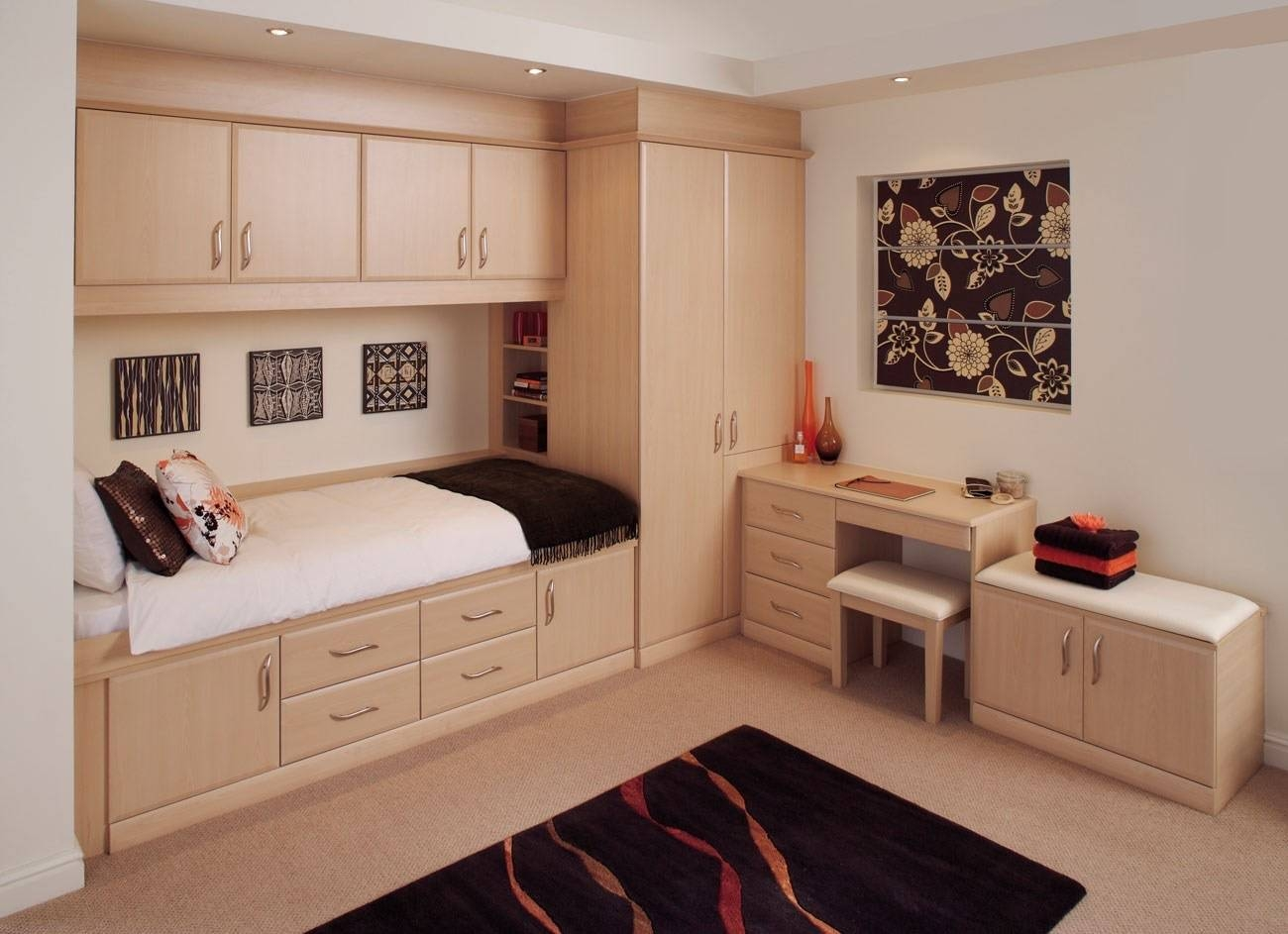 Wondrous Design Ideas Bedroom Fitted Wardrobes Designs 16 Ideal Regarding Drawers For Fitted Wardrobes (View 29 of 30)