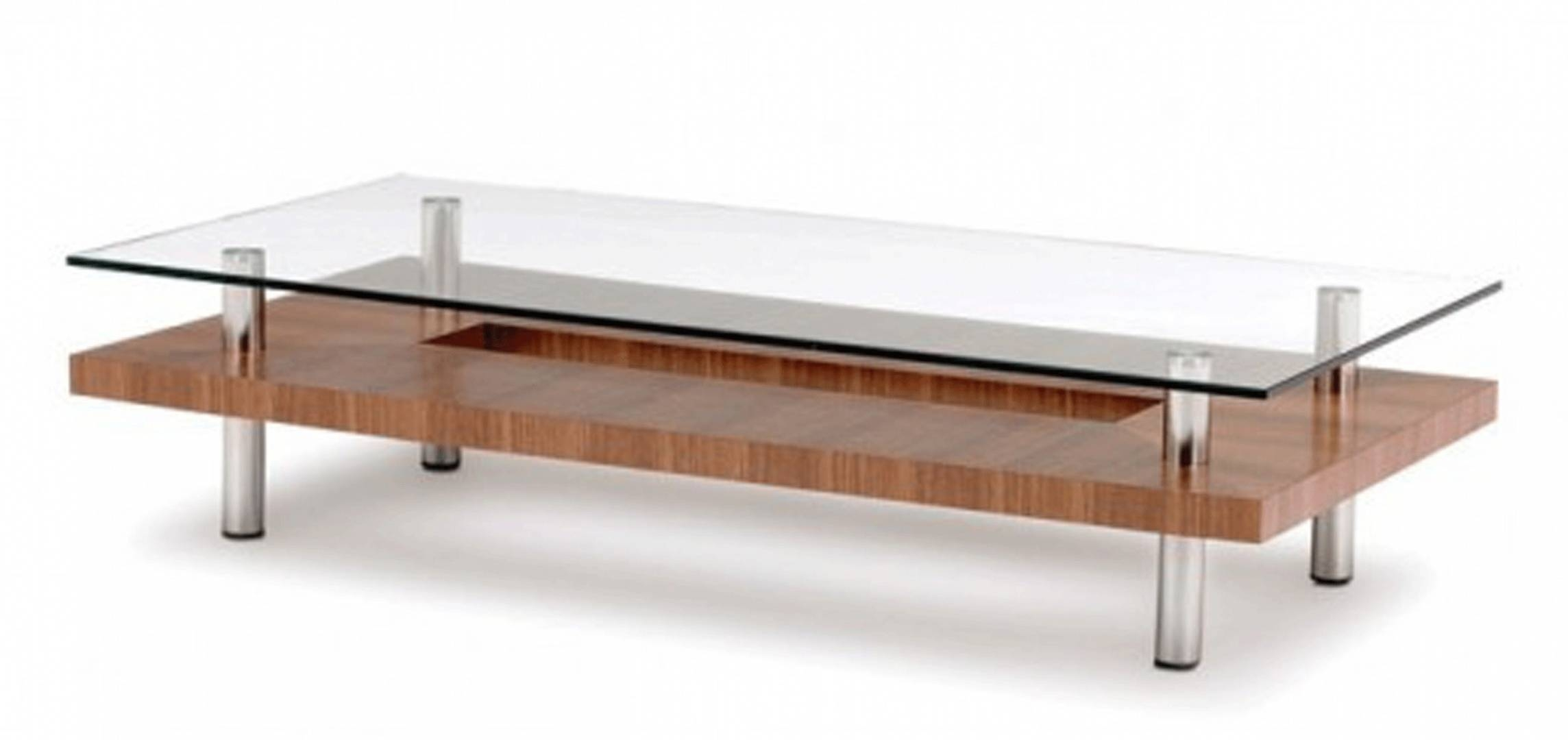 Wood And Chrome Coffee Table – Home Salers intended for Wood Chrome Coffee Tables (Image 27 of 30)