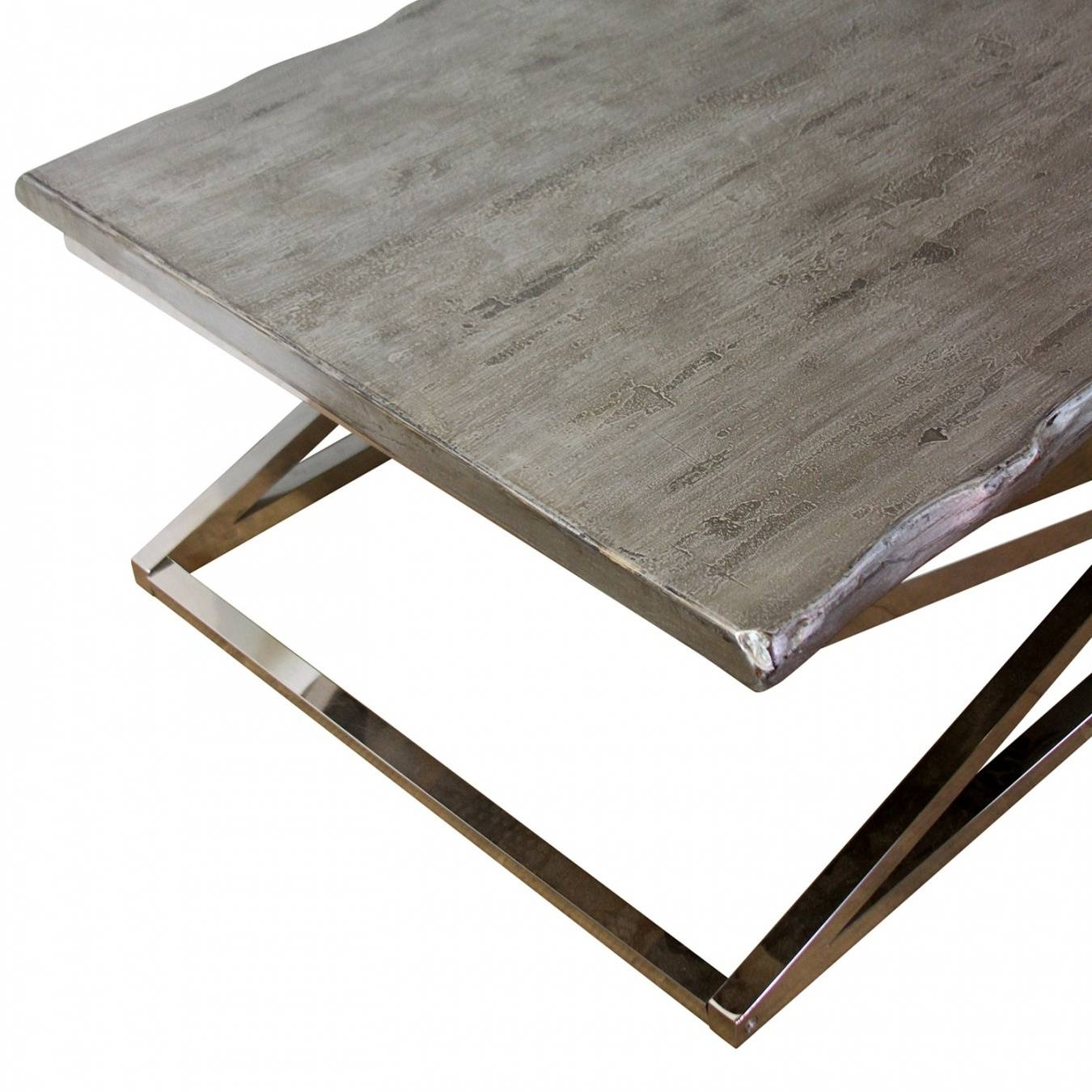 Wood And Chrome Coffee Table – Home Salers with Chrome And Wood Coffee Tables (Image 29 of 30)
