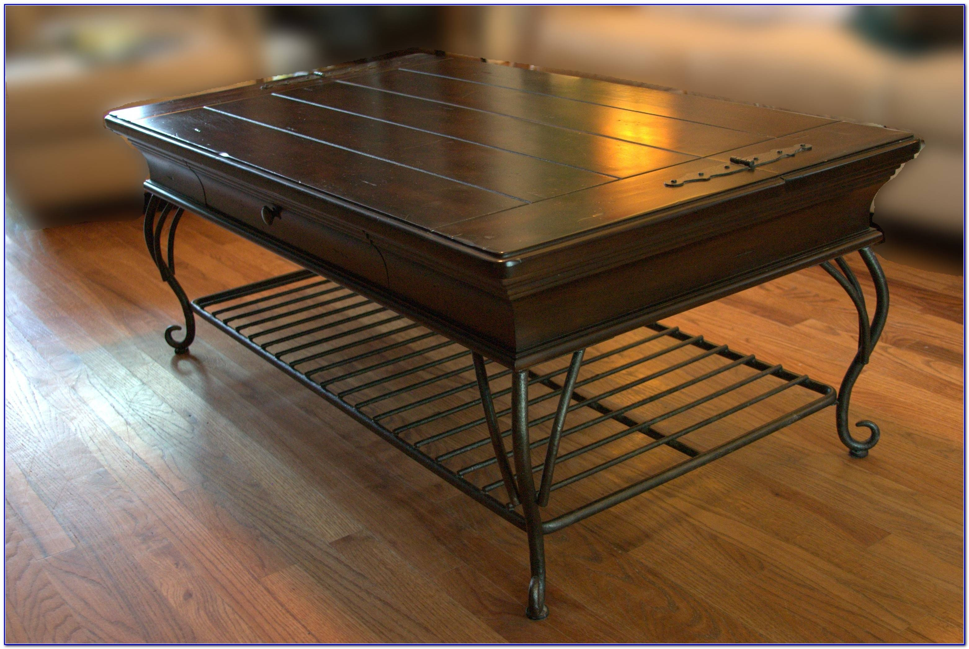 Wood And Wrought Iron Coffee Table - Coffee Table : Home Furniture for Wrought Iron Coffee Tables (Image 19 of 30)