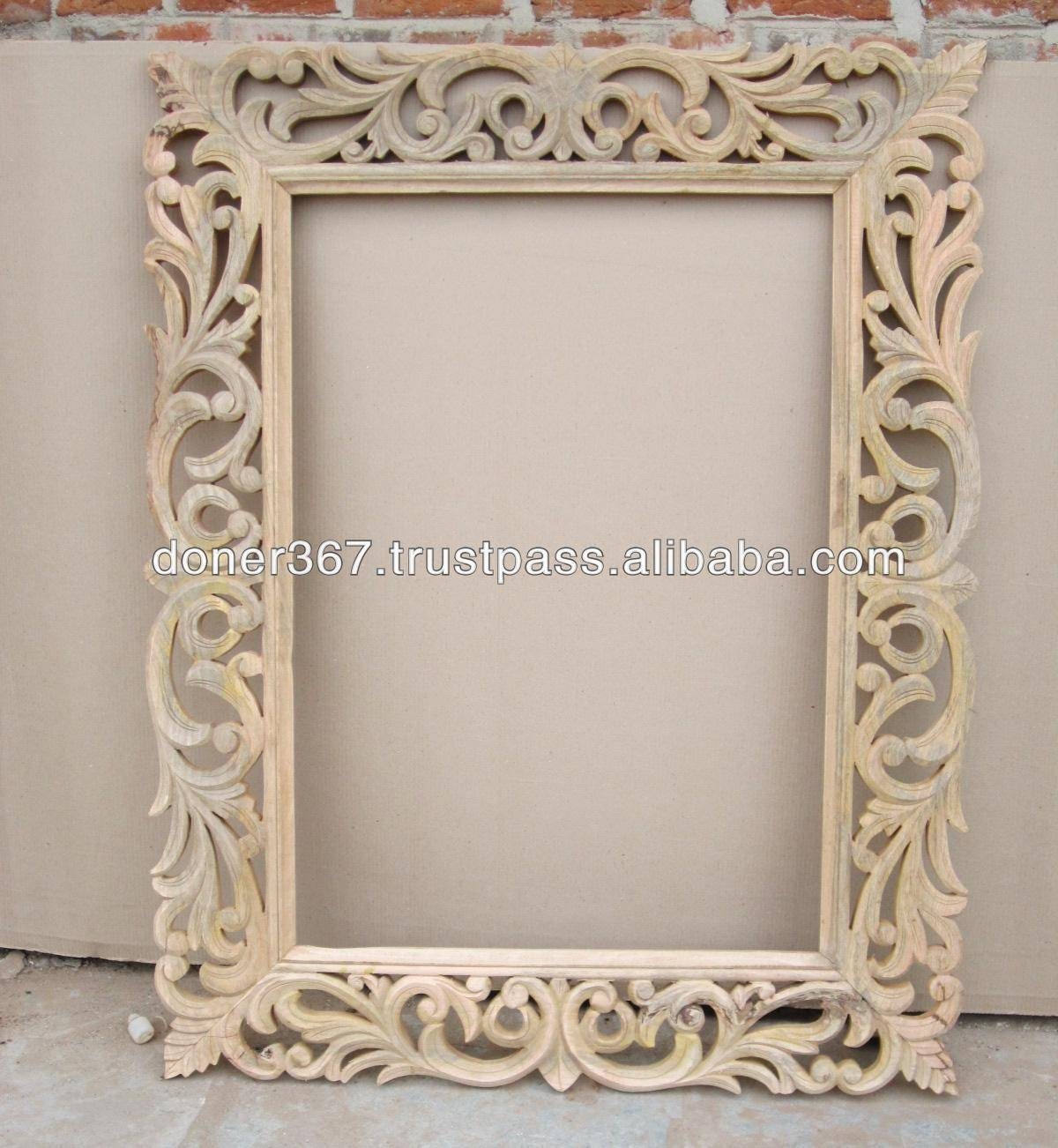 Wood Mirror Frame, Wood Mirror Frame Suppliers And Manufacturers within Glitter Frame Mirrors (Image 25 of 25)