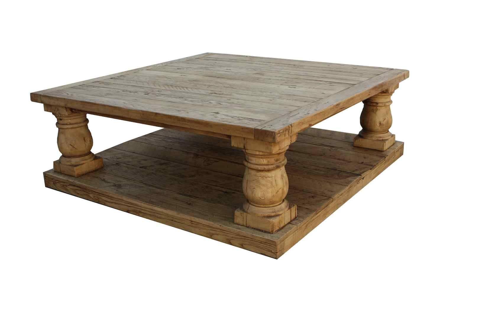 Wood Rustic Coffee Table – Rustic Wood Metal Coffee Table, Light throughout Rustic Wood Diy Coffee Tables (Image 30 of 30)