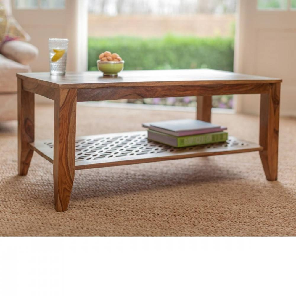 Wooden Coffee Table Premium High Quality Sheesham Camellias pertaining to Jaipur Sheesham Coffee Tables (Image 29 of 30)