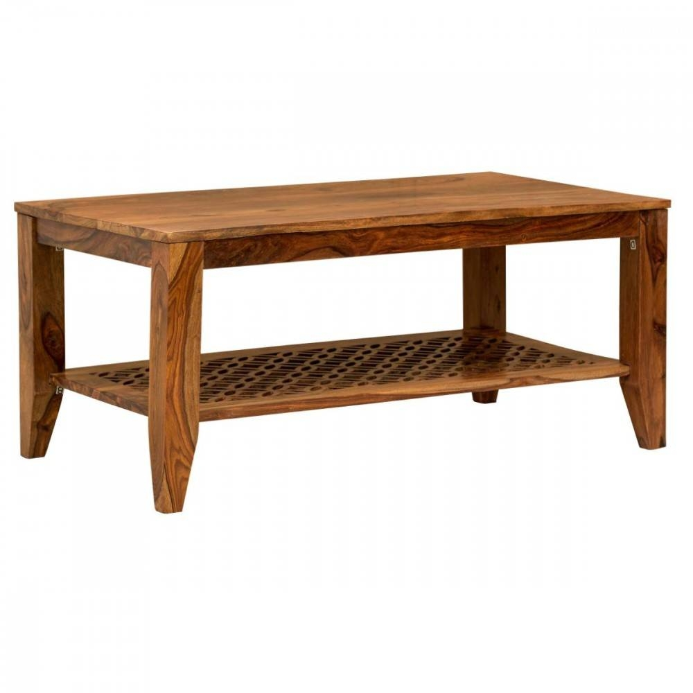 Wooden Coffee Table Premium High Quality Sheesham Camellias within High Quality Coffee Tables (Image 30 of 30)
